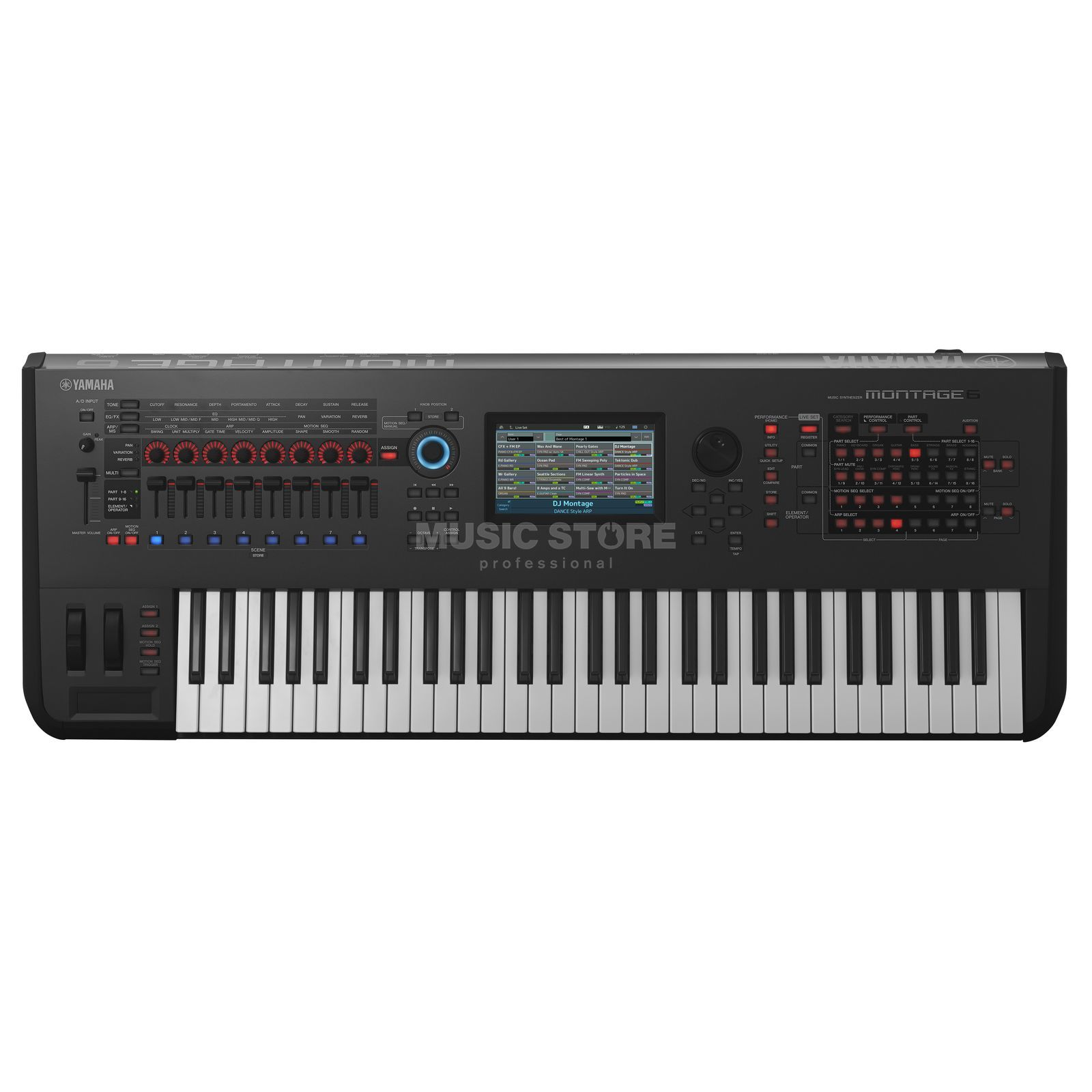 yamaha montage 6 61 tasten keyboard. Black Bedroom Furniture Sets. Home Design Ideas