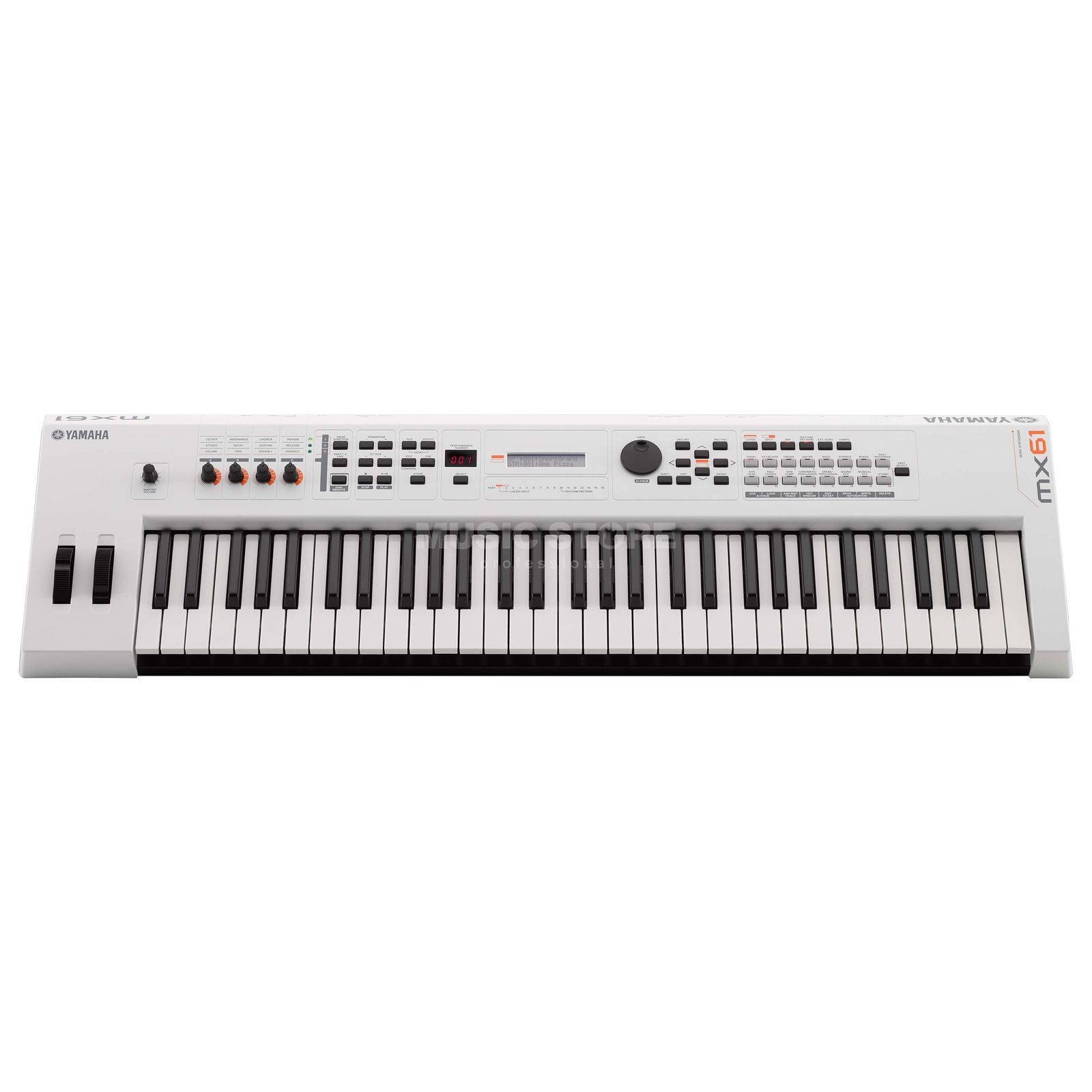 Yamaha MX61 II WH white Produktbillede