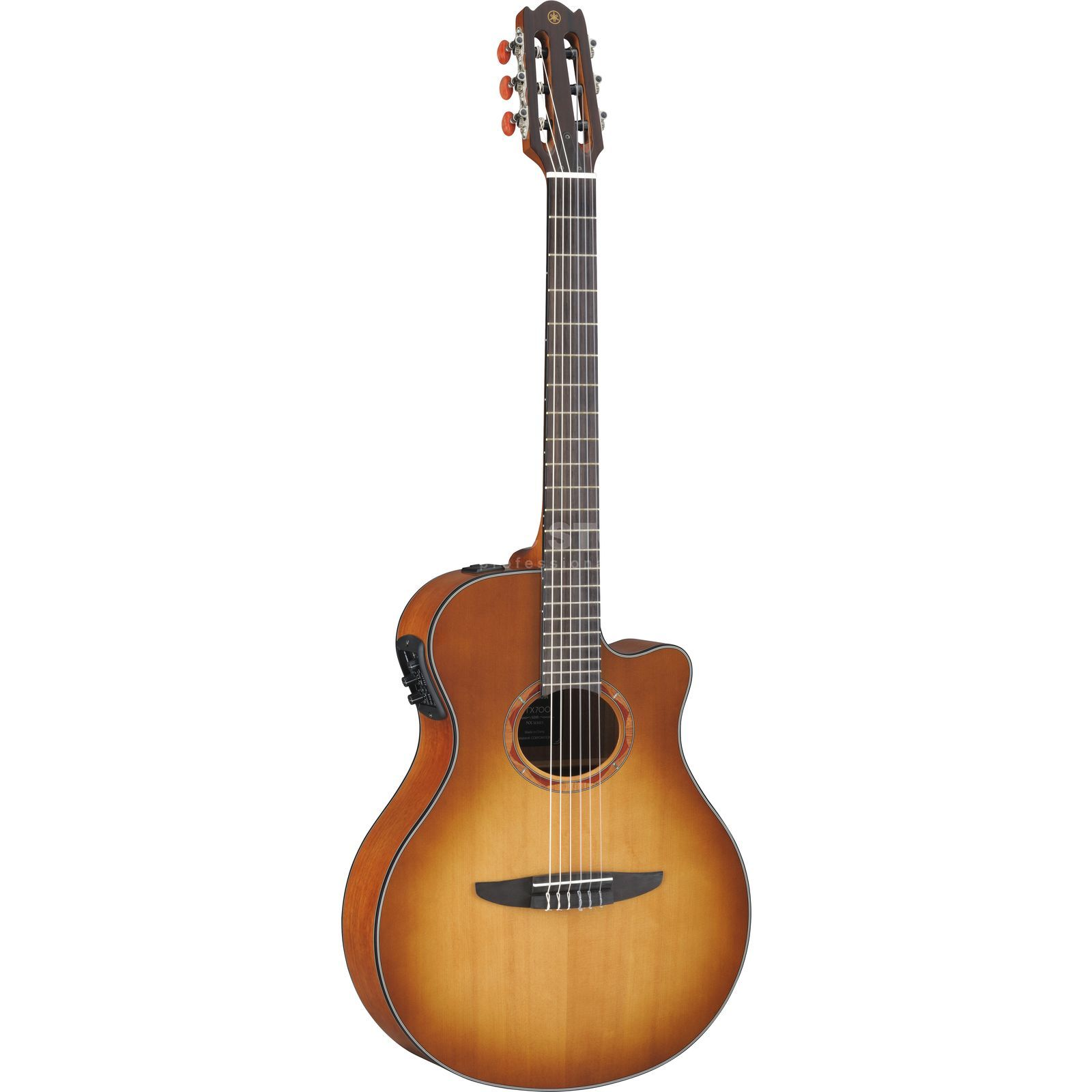 yamaha ntx700 electro acoustic guitar sand burst