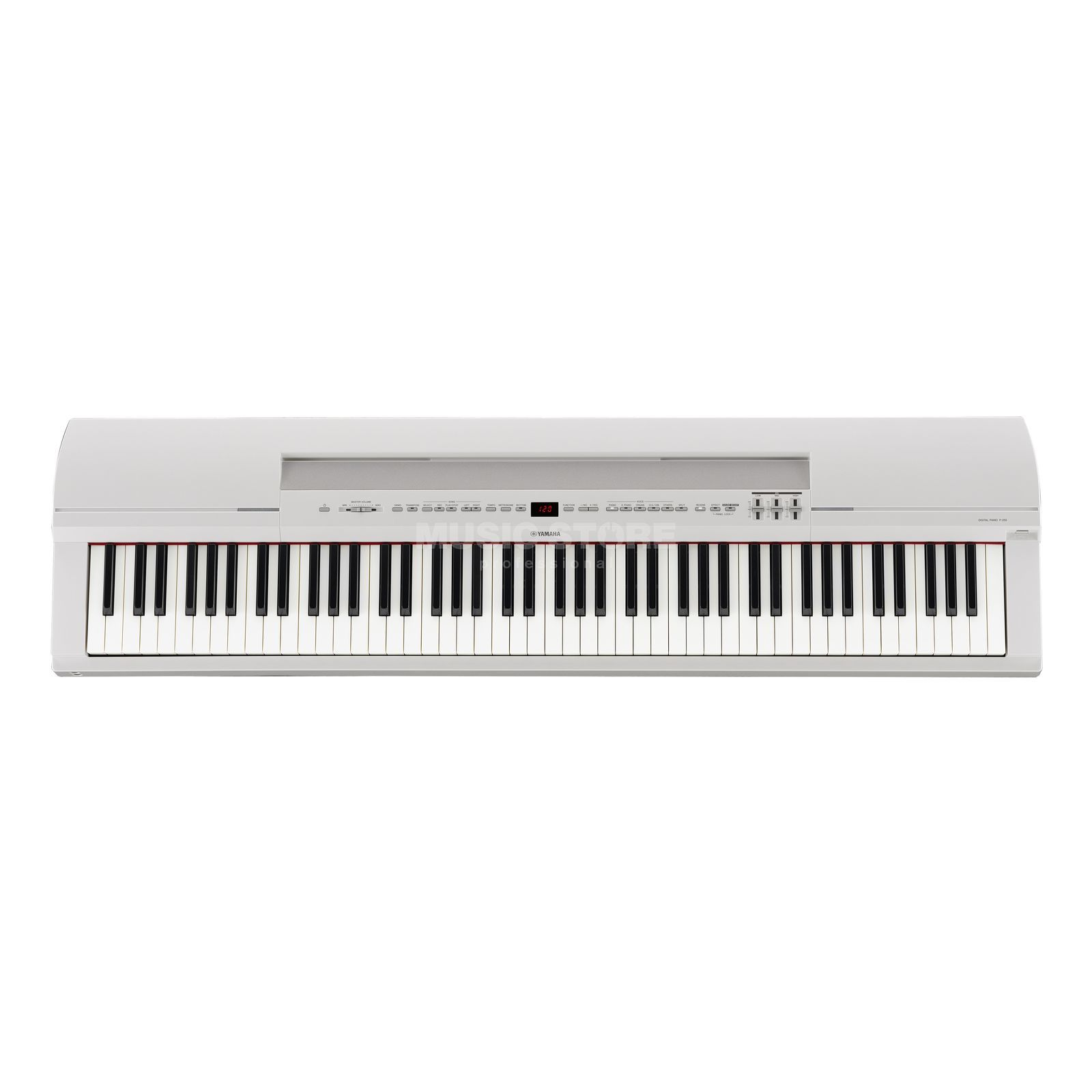 Yamaha P-255 WH white Digital Piano Produktbillede