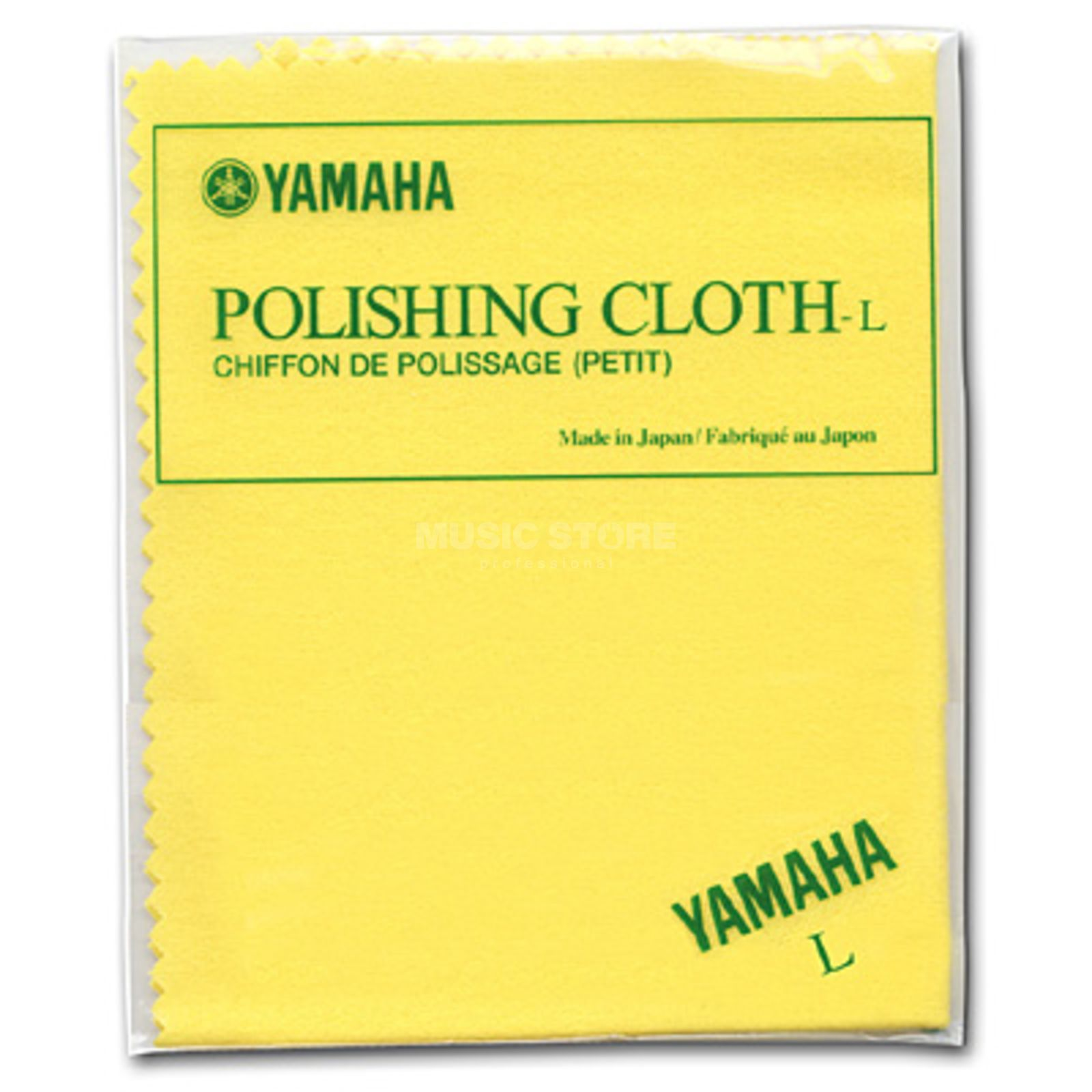 Yamaha Polishing Cloth Size L Yellow Product Image