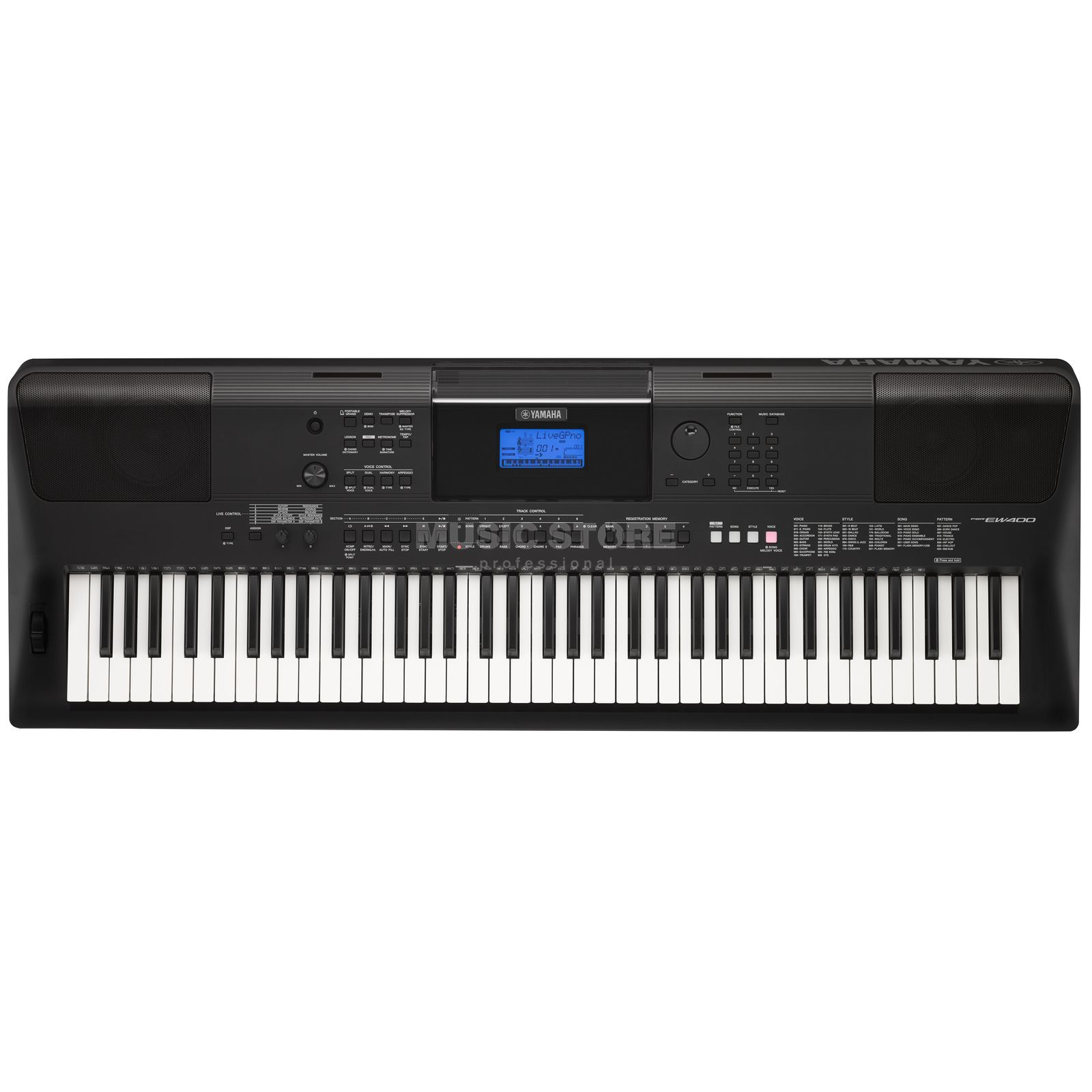 Yamaha PSR-EW400 Digital Keyboard Изображение товара