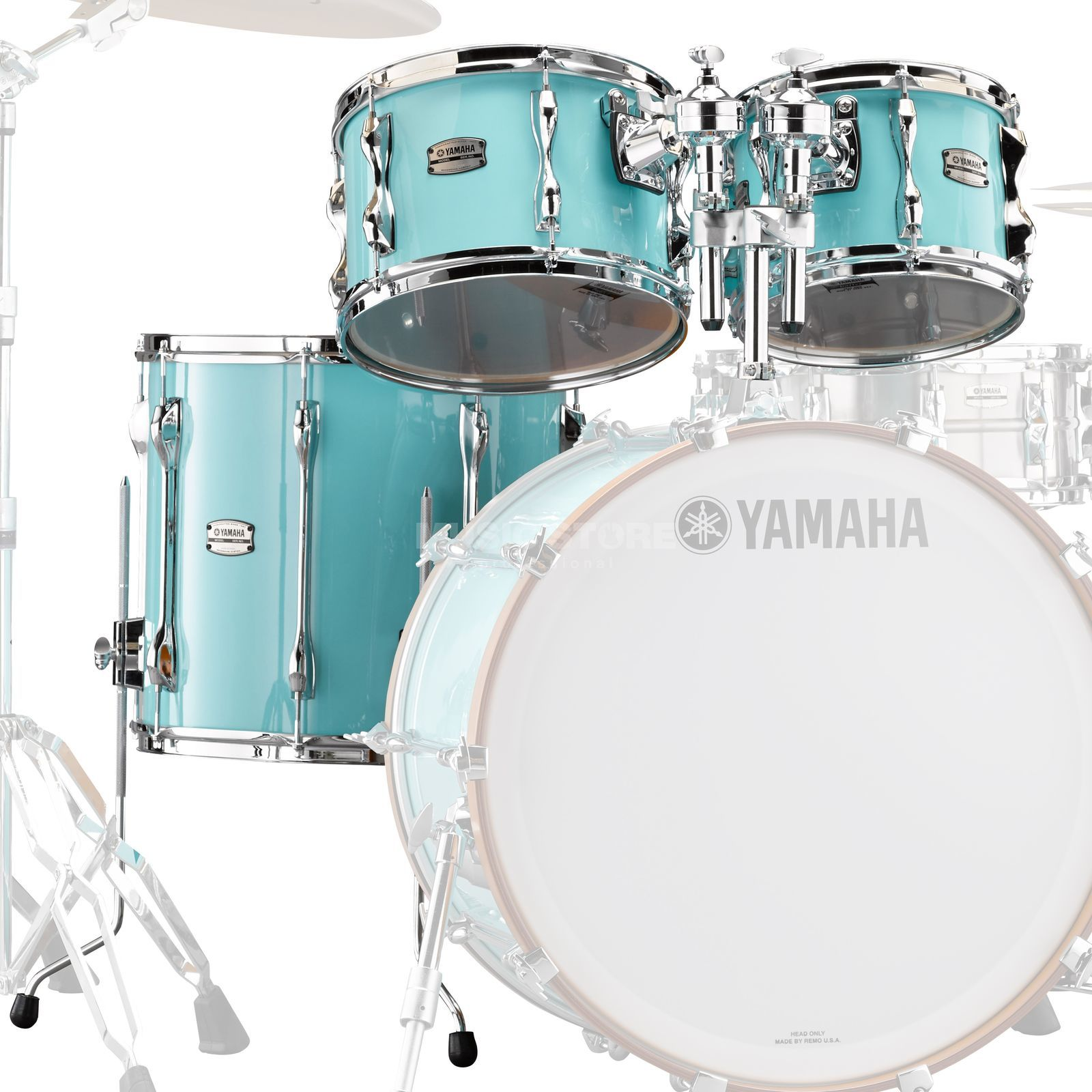 Yamaha Recording Custom Tom Pack RBP4F3, Surf Green Produktbild