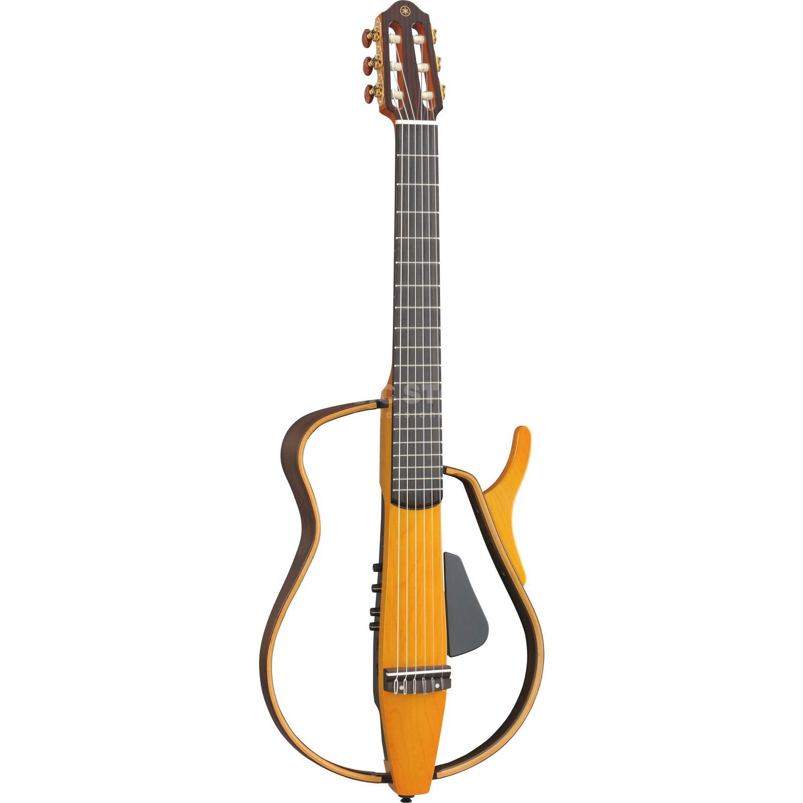 Yamaha SLG 130NW LAB w/wide Neck Silent Guitar, Nylon Strings Produktbild
