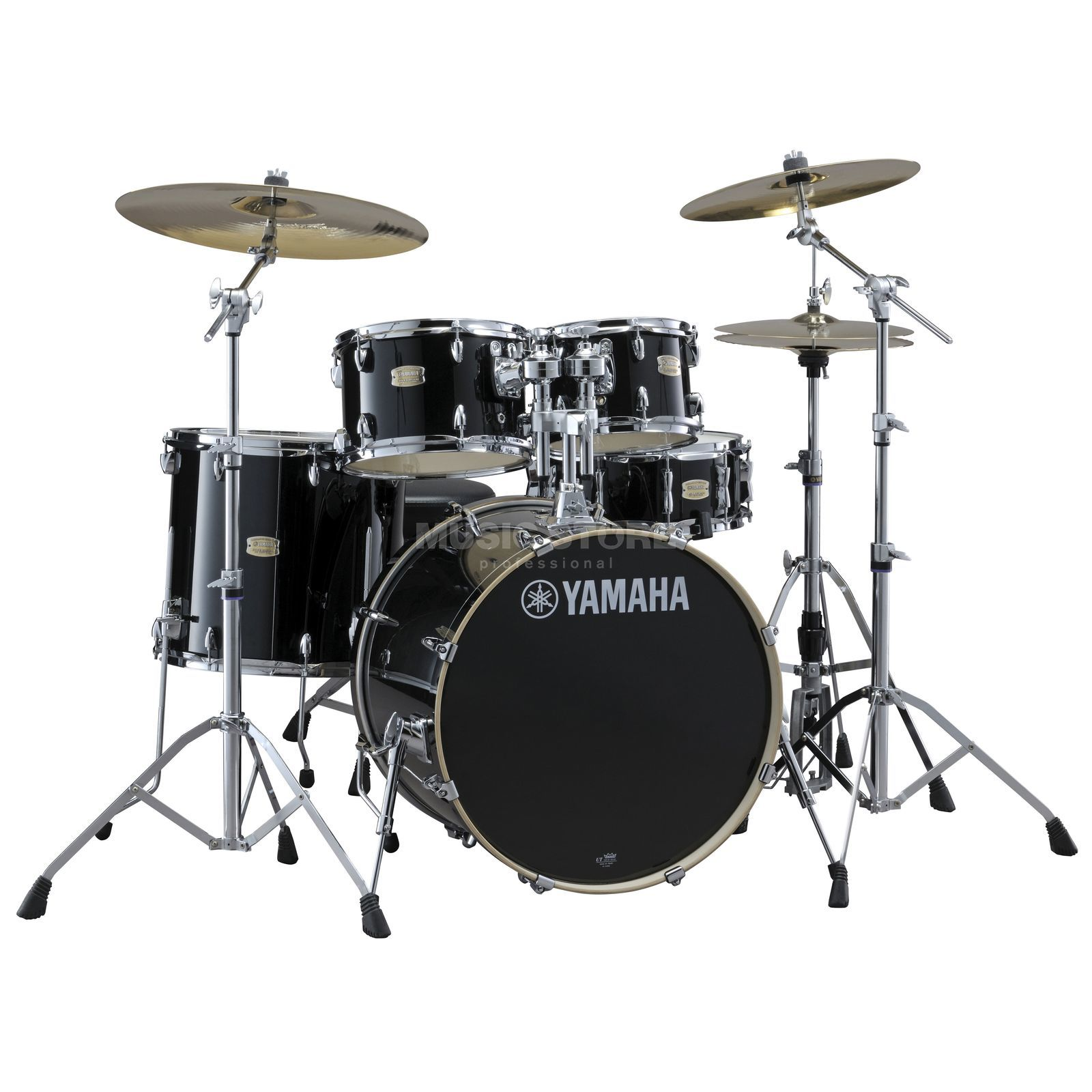 Yamaha Stage Custom Birch SBP0F56W Raven Black #RB Produktbild