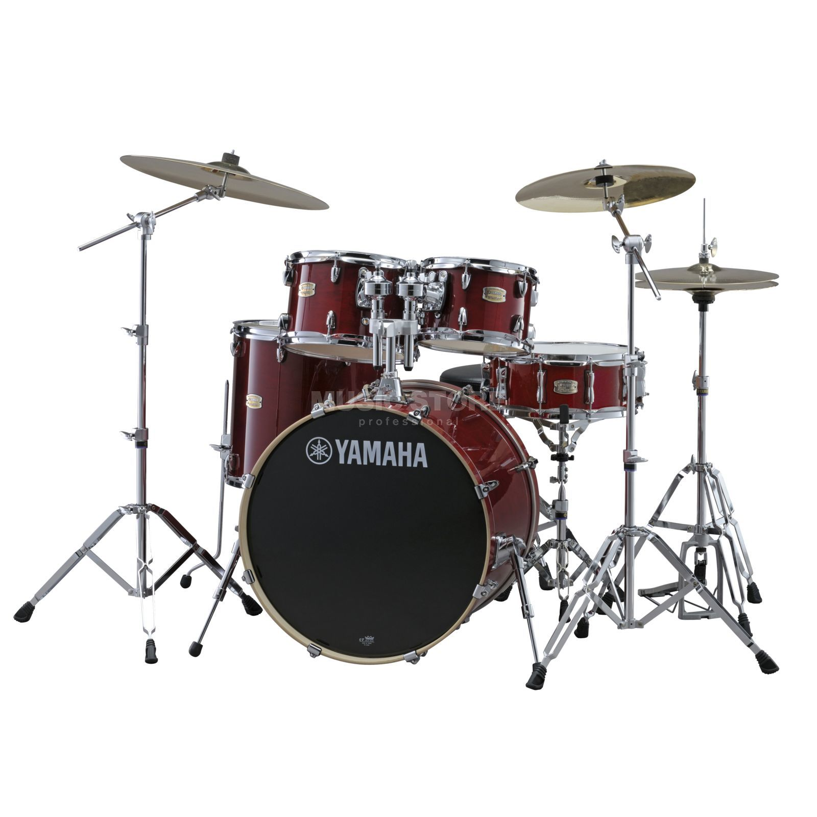 Yamaha Stage Custom Birch ShellSet, Stage, Cranberry Red #CR Produktbild