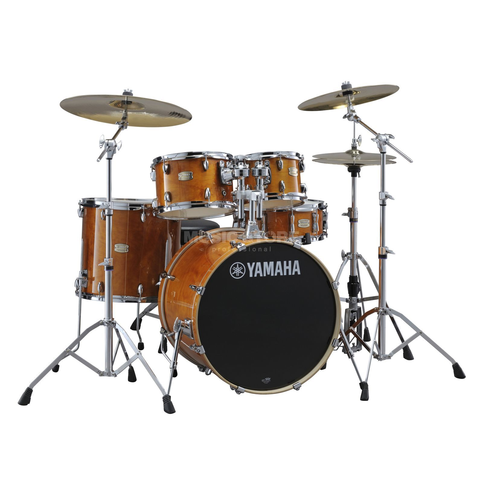 Yamaha Stage Custom Birch ShellSet, Stage, Honey Amber #HA Produktbillede