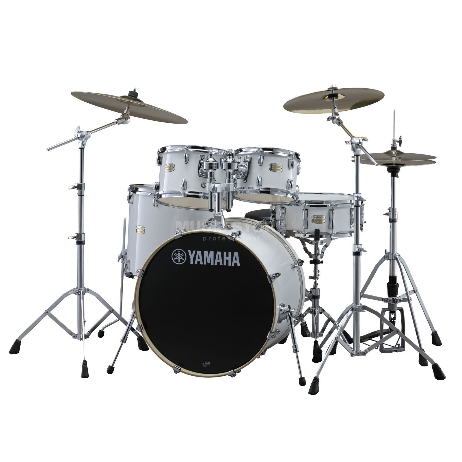 Yamaha Stage Custom Birch ShellSet, Stage, Pure White #PW Produktbild