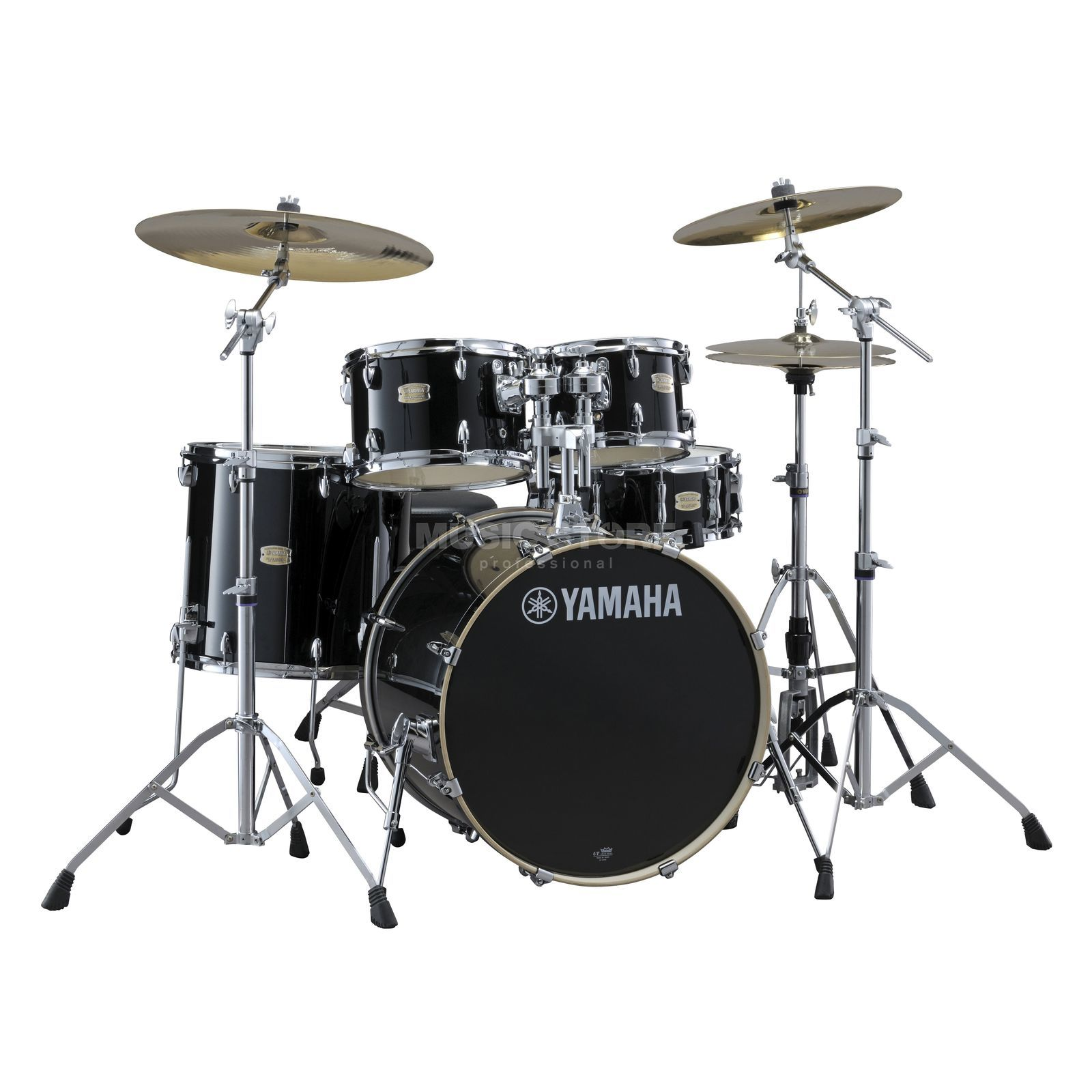 Yamaha Stage Custom Birch ShellSet, Stage, Raven Black #RB Produktbillede