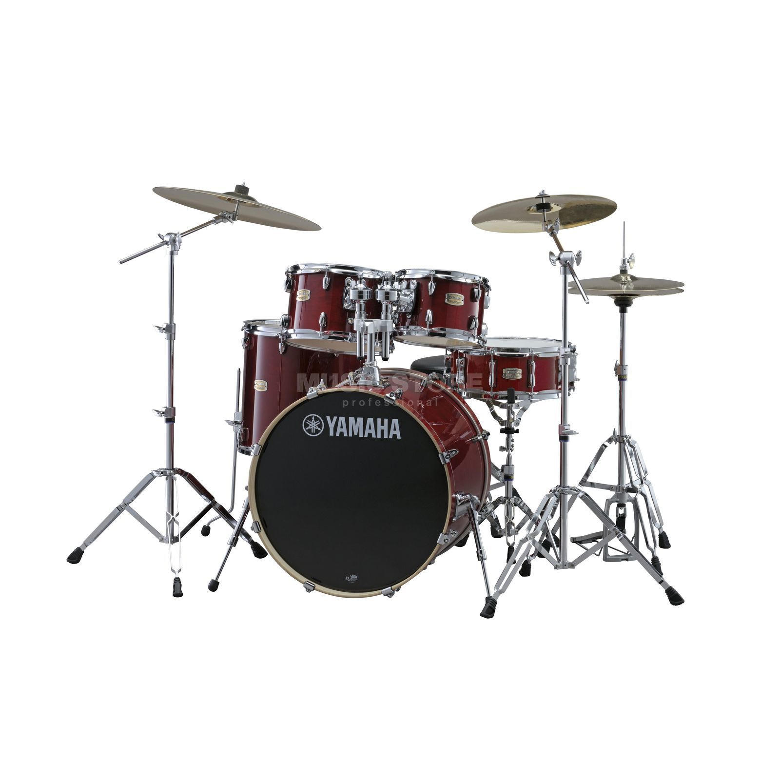 Yamaha Stage Custom Birch ShellSet, Studio, Cranberry Red #CR Produktbild