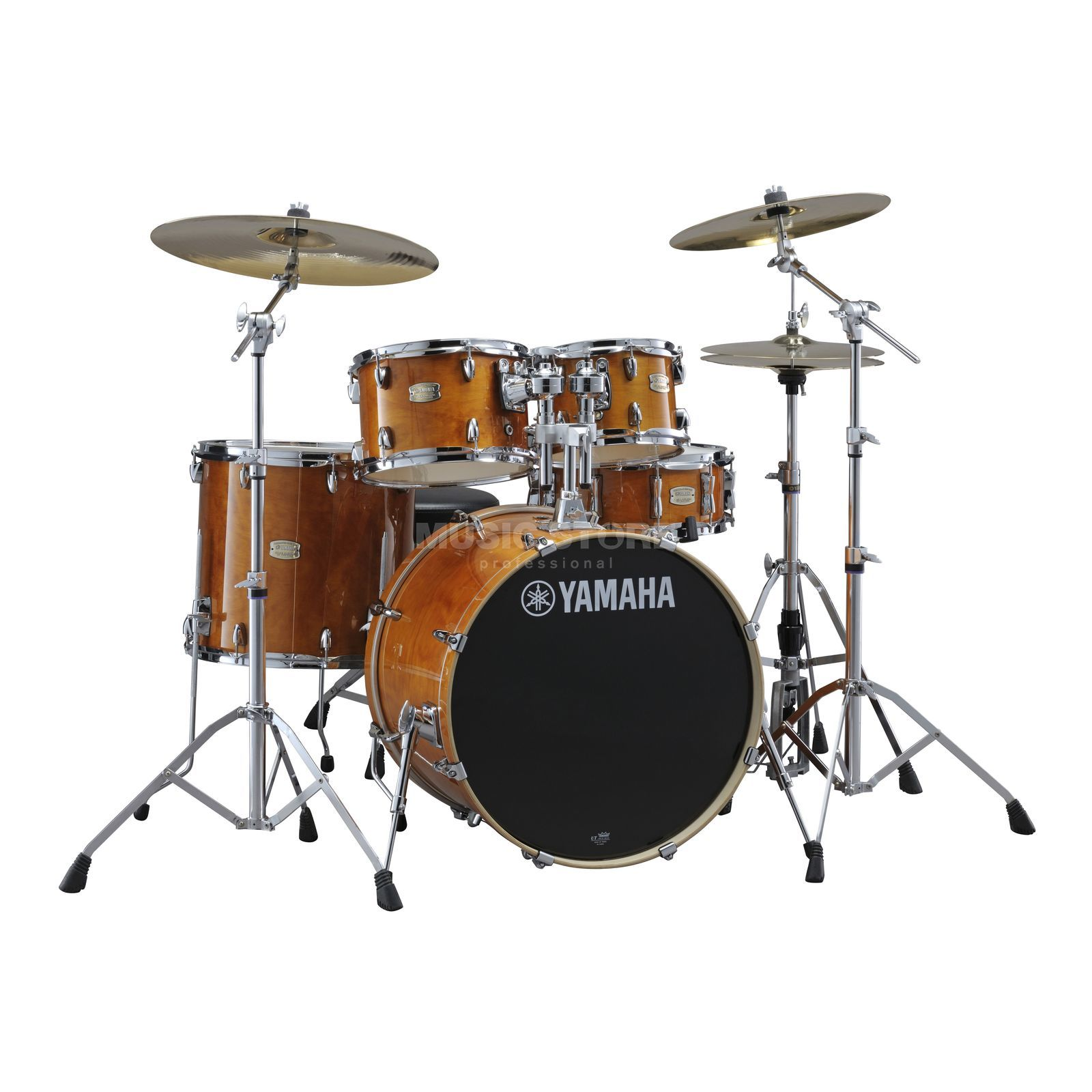 Yamaha Stage Custom Birch ShellSet, Studio, Honey Amber #HA Produktbillede
