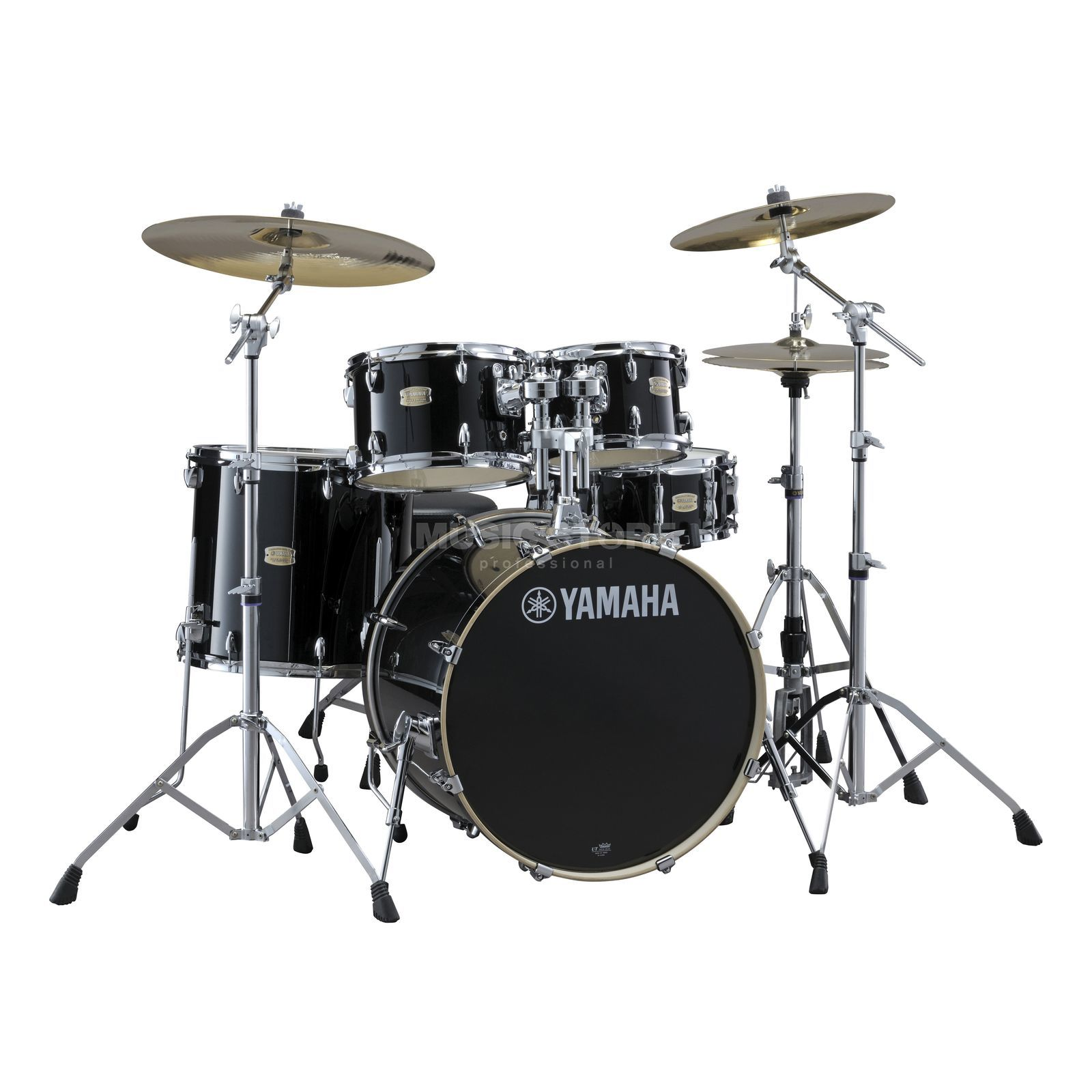Yamaha Stage Custom Birch ShellSet, Studio, Raven Black #RB Produktbild