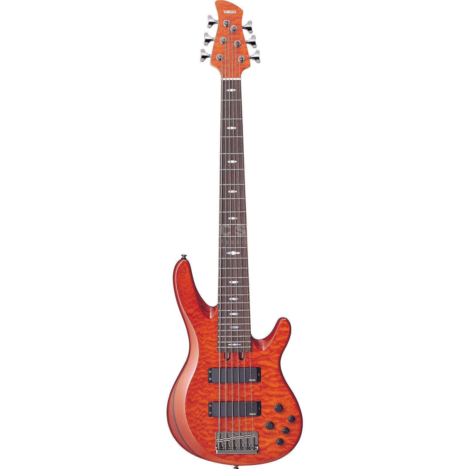 Yamaha TRB1006J 6-String Bass Guitar,  Caramel Brown   Product Image