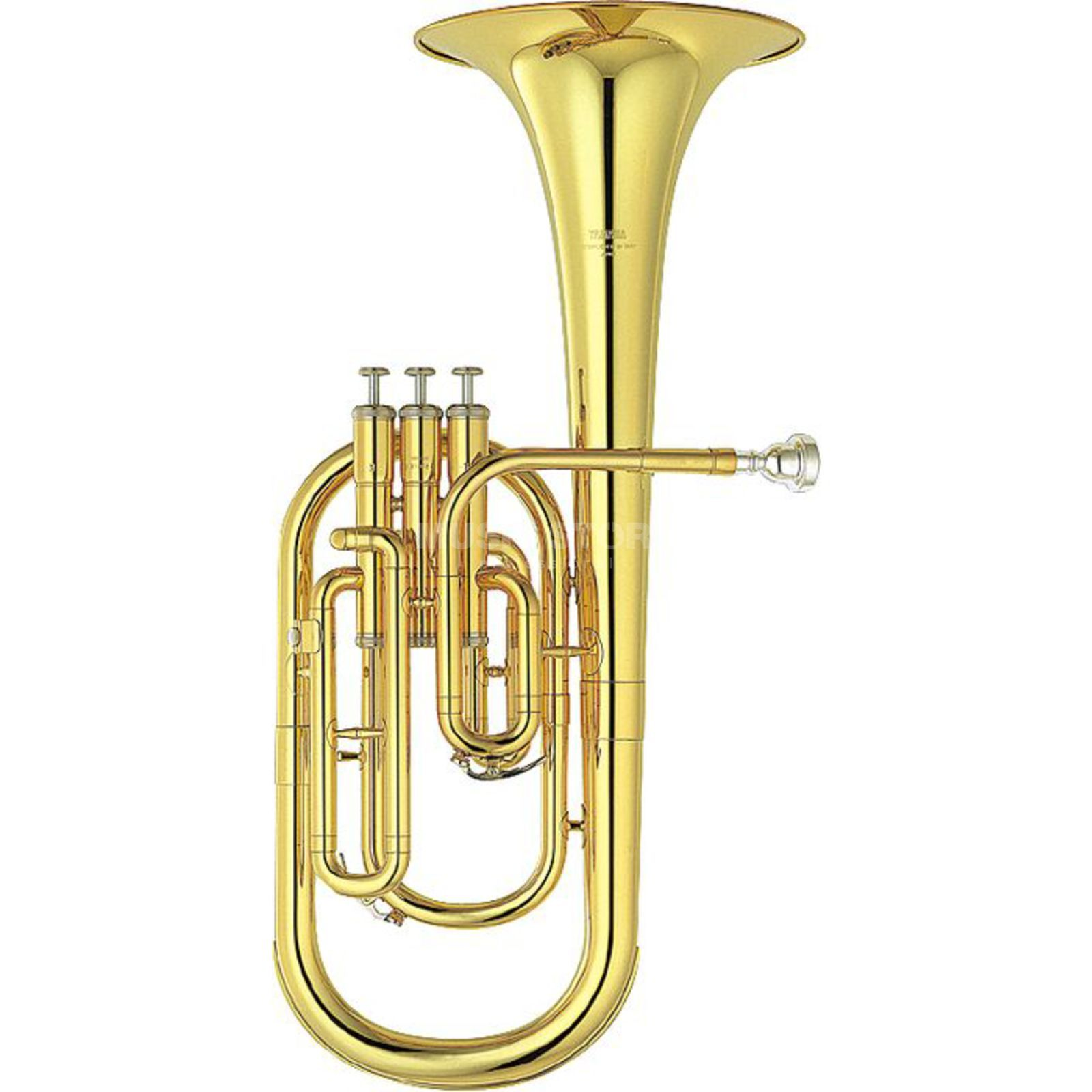 Yamaha YAH-203 Eb-Alto Horn Three Valves, Gold Lacquer Product Image