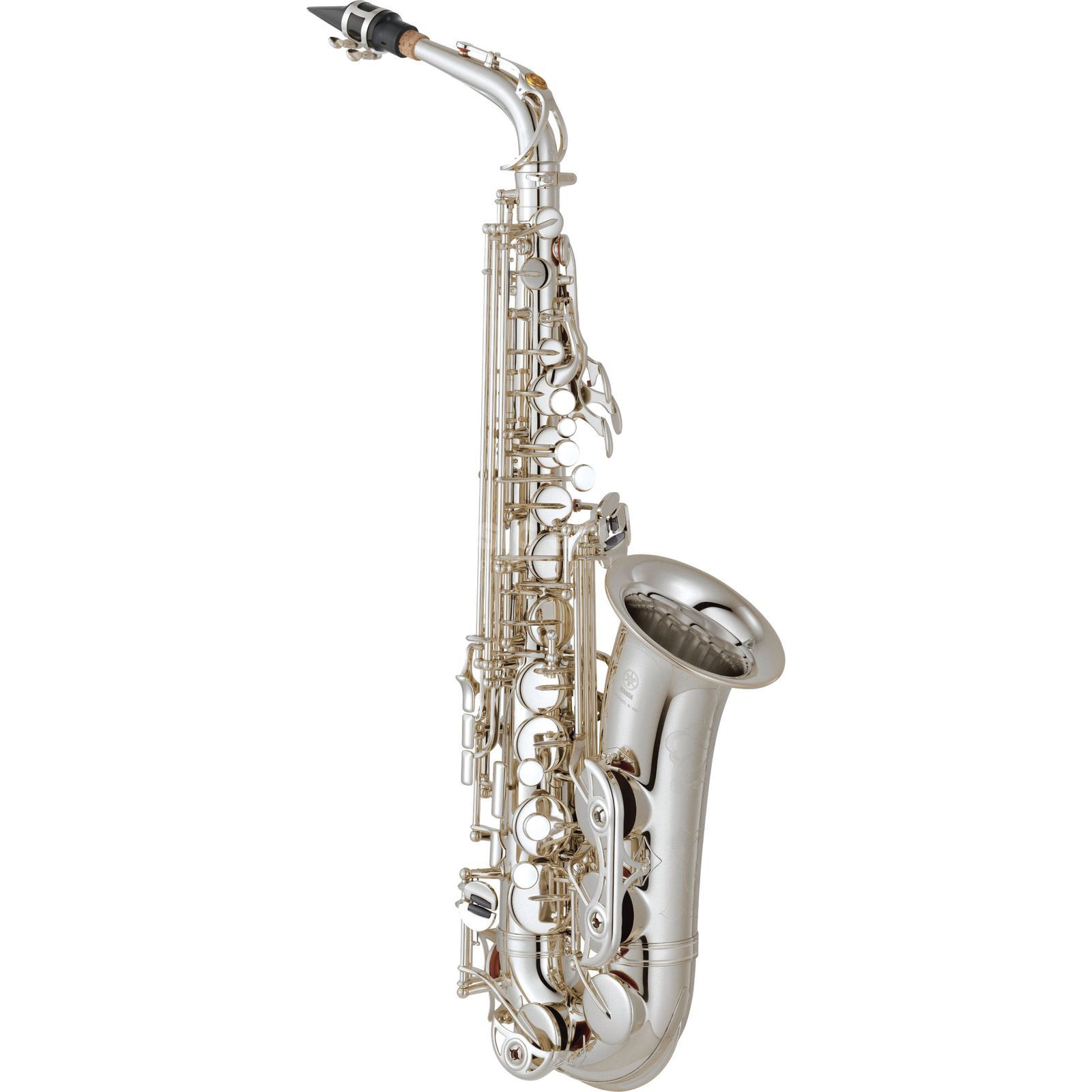 Yamaha YAS-62 02 S Alto Saxophone Pro Shop Series, Silver Plated Produktbillede