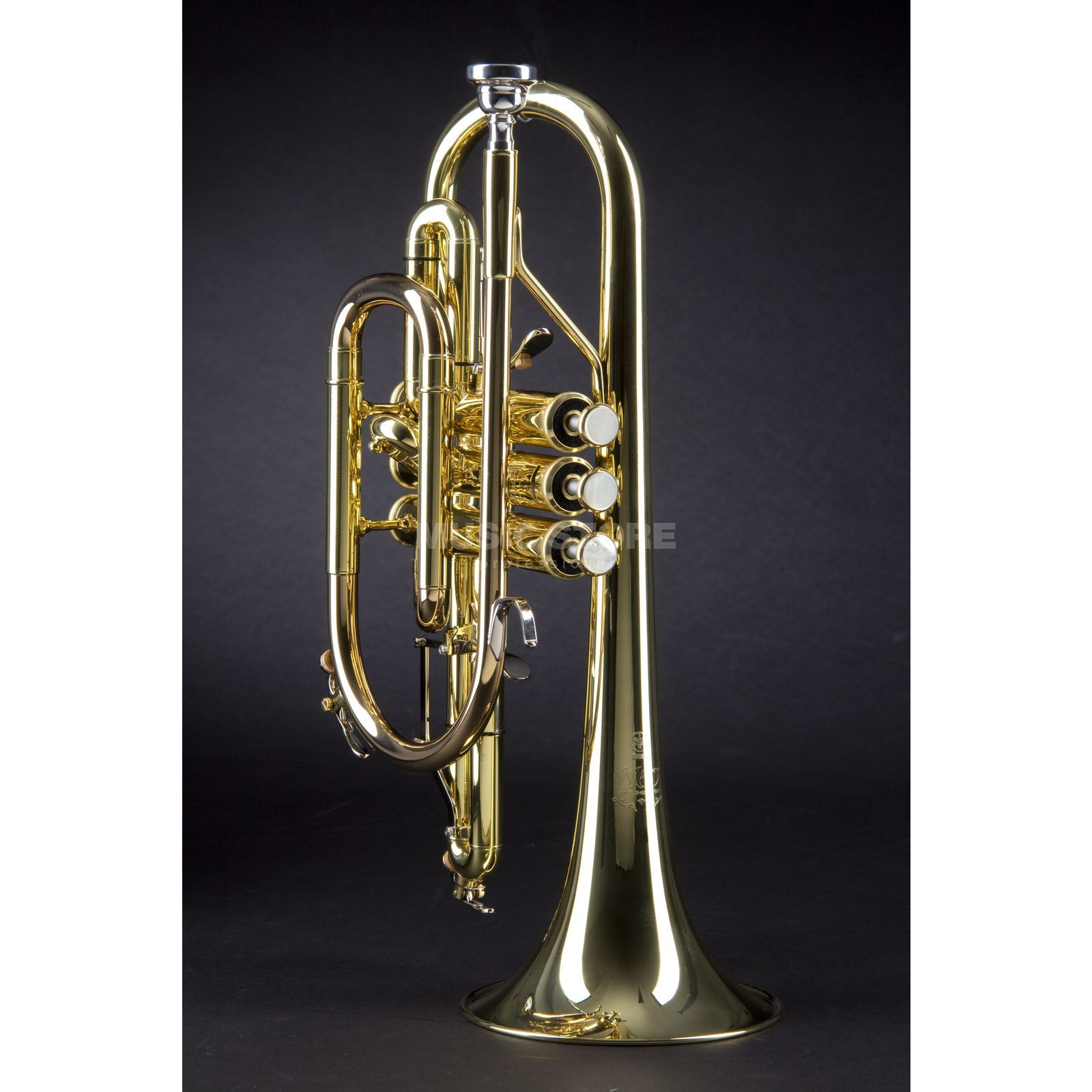 Yamaha YCR-8335 02 Bb-Cornet NEO Series, Gold Lacquer Product Image