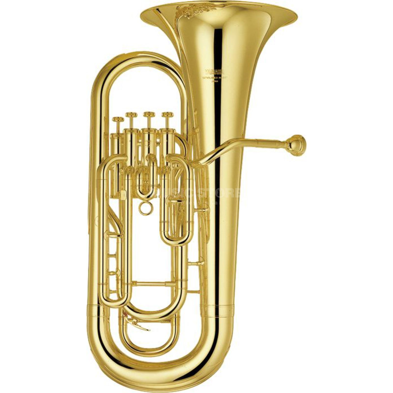 Yamaha YEP-321 Bb-Euphonium Four Valves, Clear Lacquer Product Image