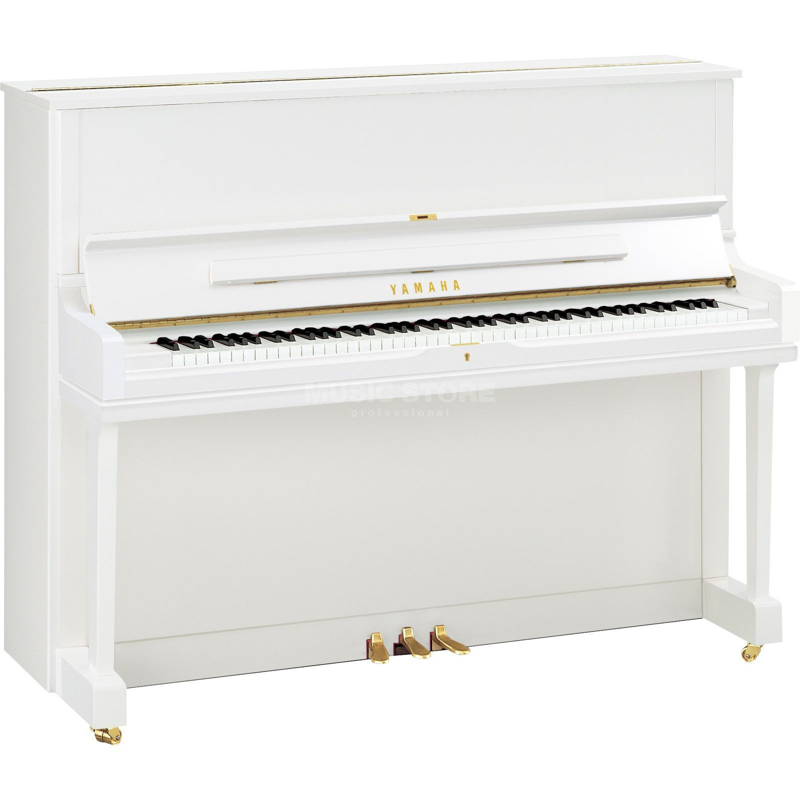 Yamaha YUS 1  PWH  Piano 121cm white Produktbillede
