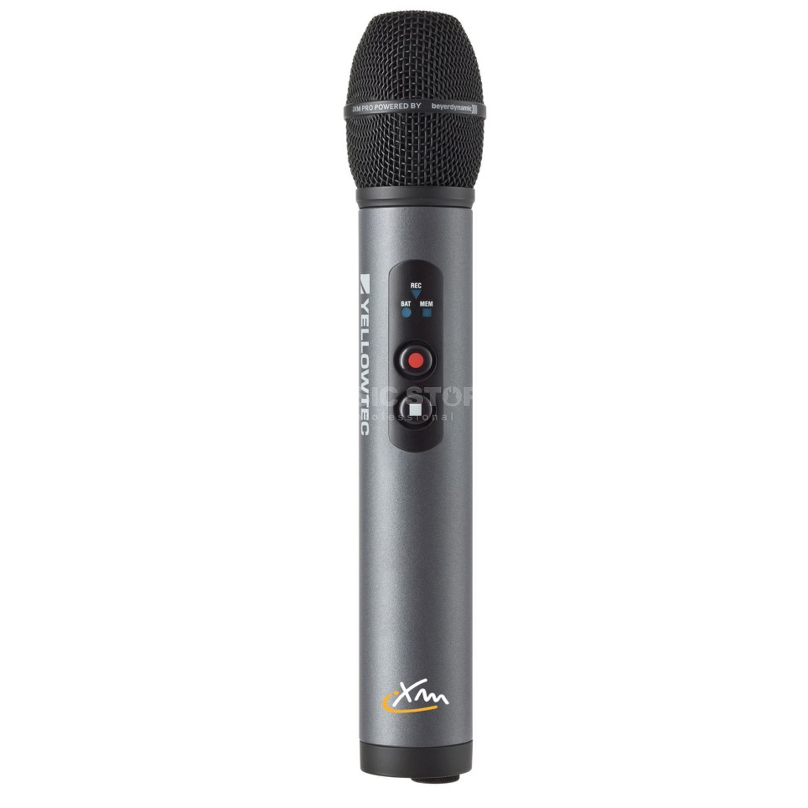 Yellowtec iXm Premium Head Cardioid Hand Microphone with Recorder Produktbillede