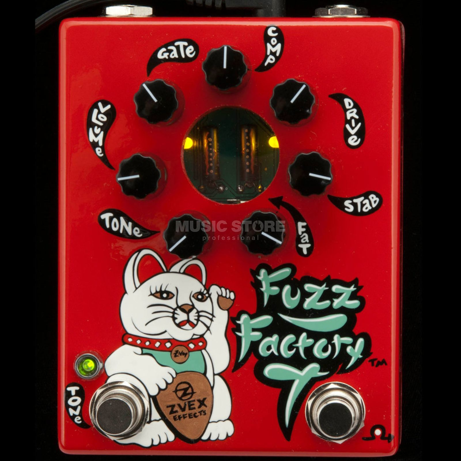 Z.VEX Fuzz Factory 7 rot Product Image