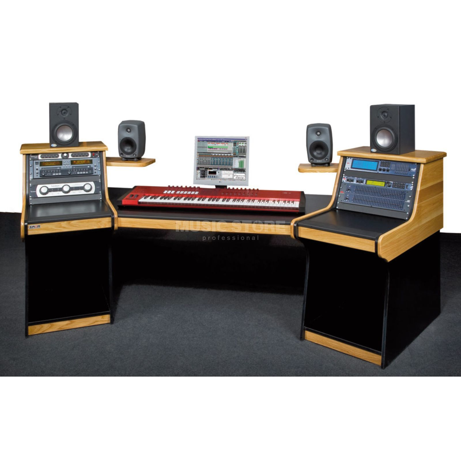 Zaor Aria Workstation, oak Produktbild