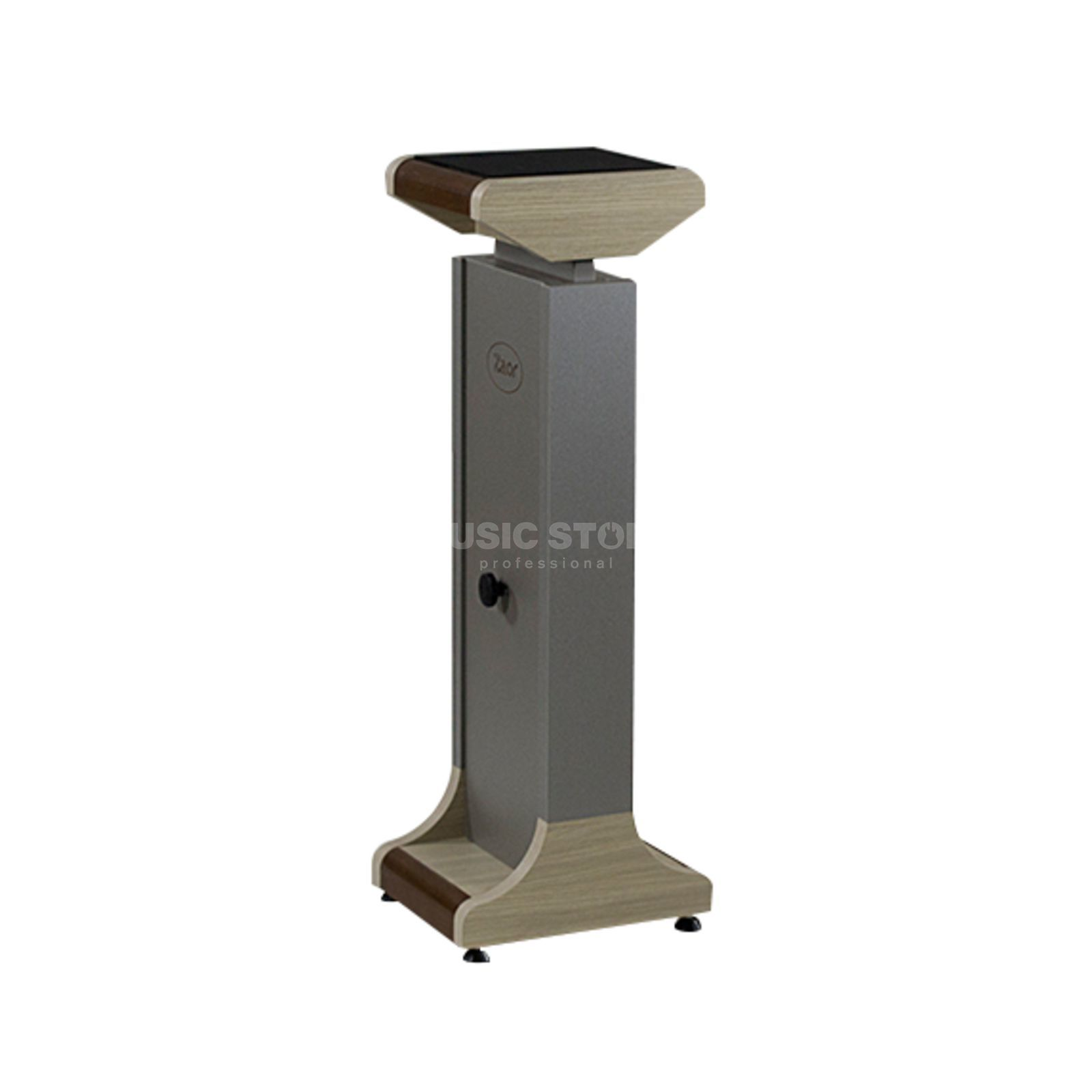 Zaor MIZA Stand MKII pair Grey/Oak, Height Adjustable Produktbillede