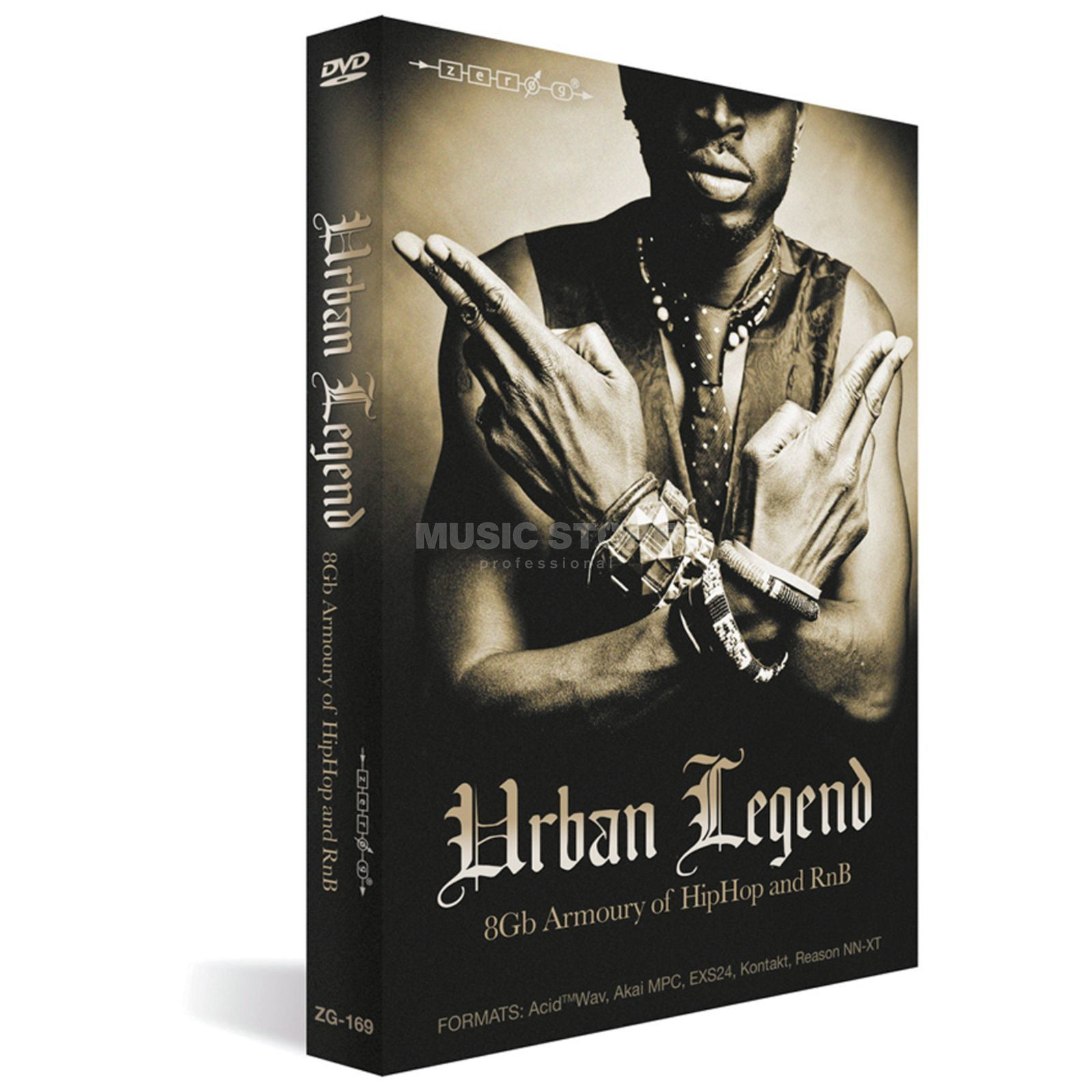 Zero G Urban Legend Sample Library Produktbild