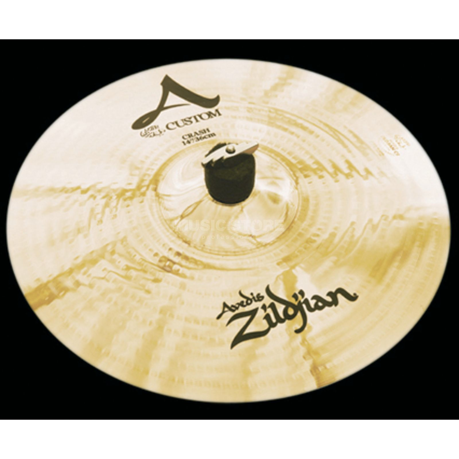 "Zildjian A-Custom Crash 14"" Brilliant Finish Product Image"