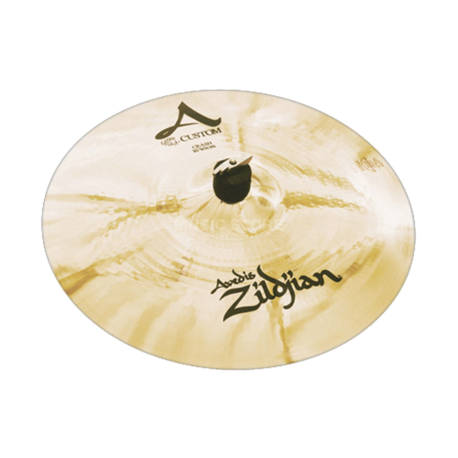 "Zildjian A-Custom Crash 16"" Brilliant Finish Produktbillede"