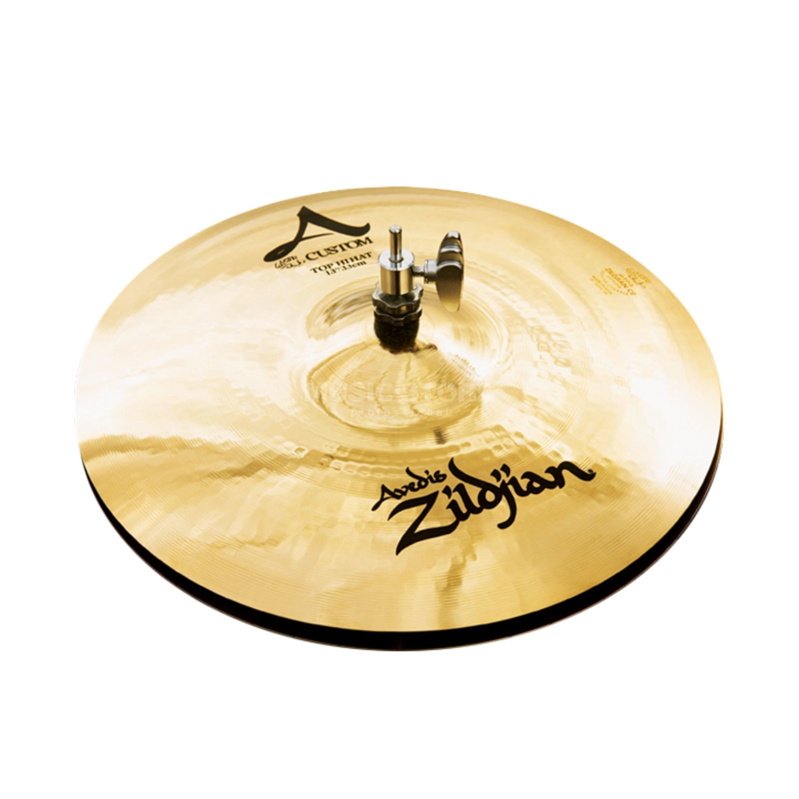 "Zildjian A-Custom HiHat 13"" Brilliant Finish Product Image"