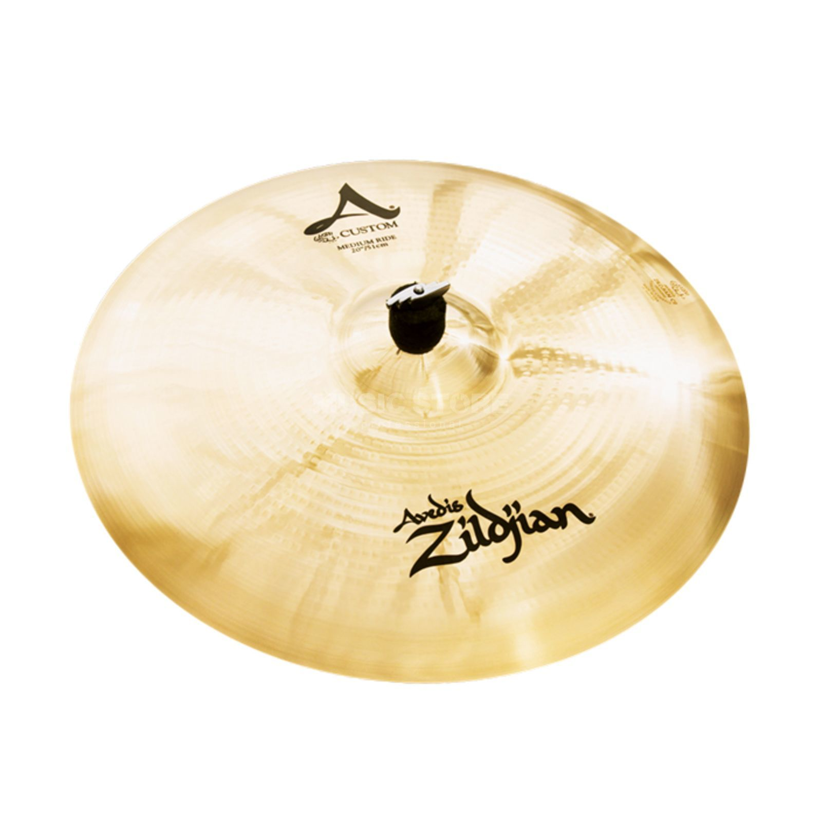"Zildjian A-Custom Medium Ride 20"" Brilliant Finish Produktbild"