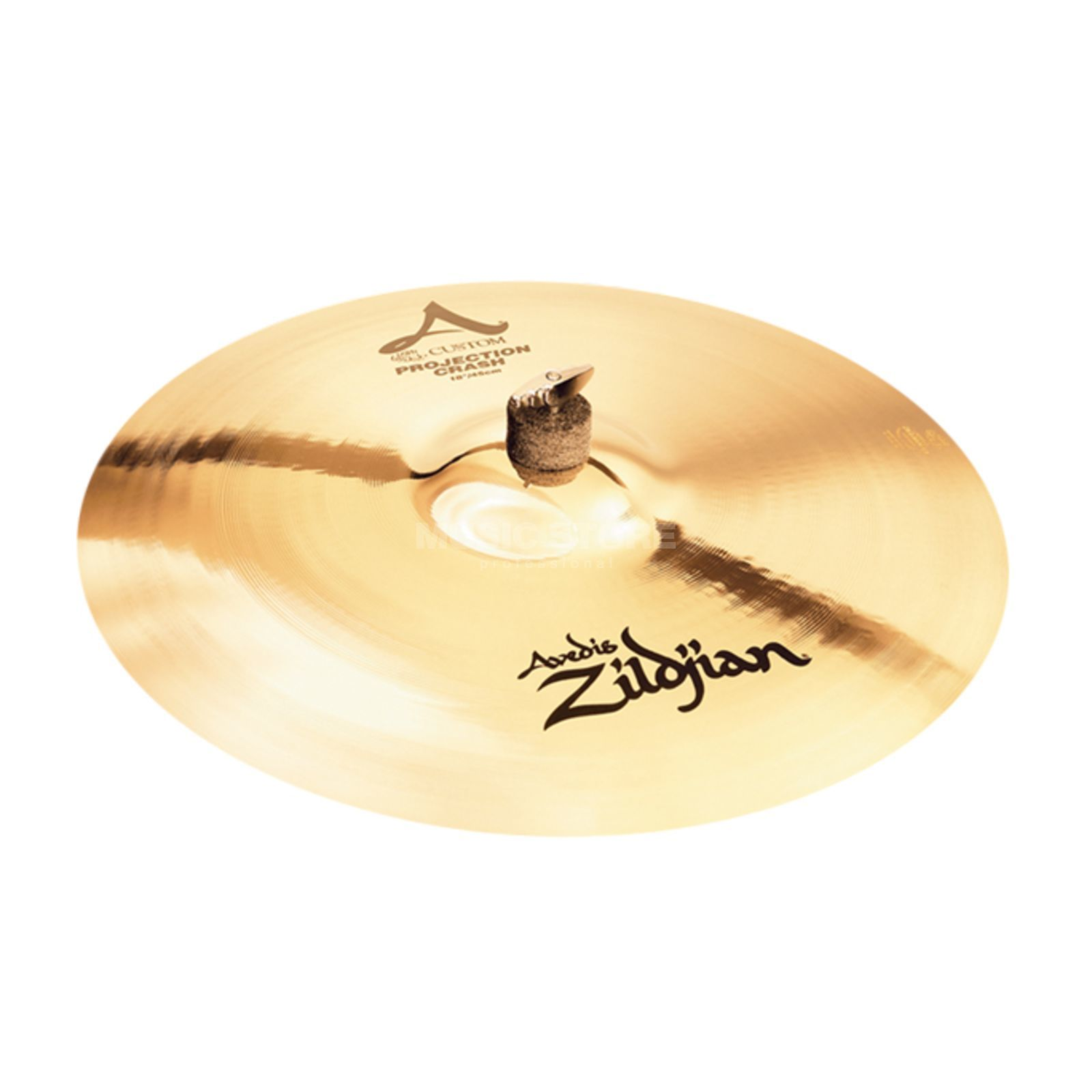 "Zildjian A-Custom Projection Crash 18"" Brilliant Finish Product Image"