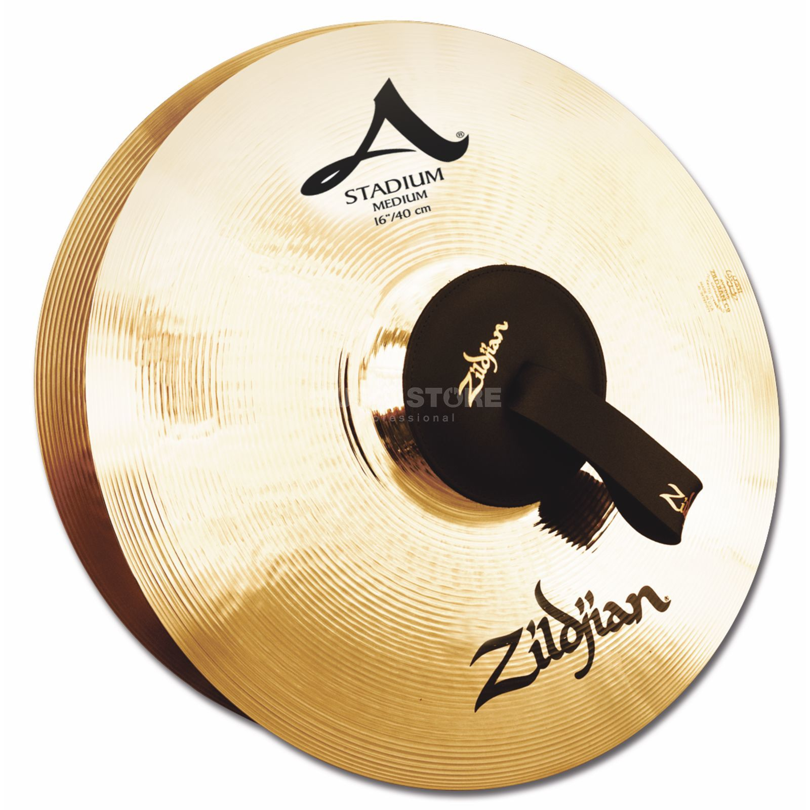 "Zildjian A' Stadium Marching Cymbals, 16"", Medium, Pair Produktbillede"