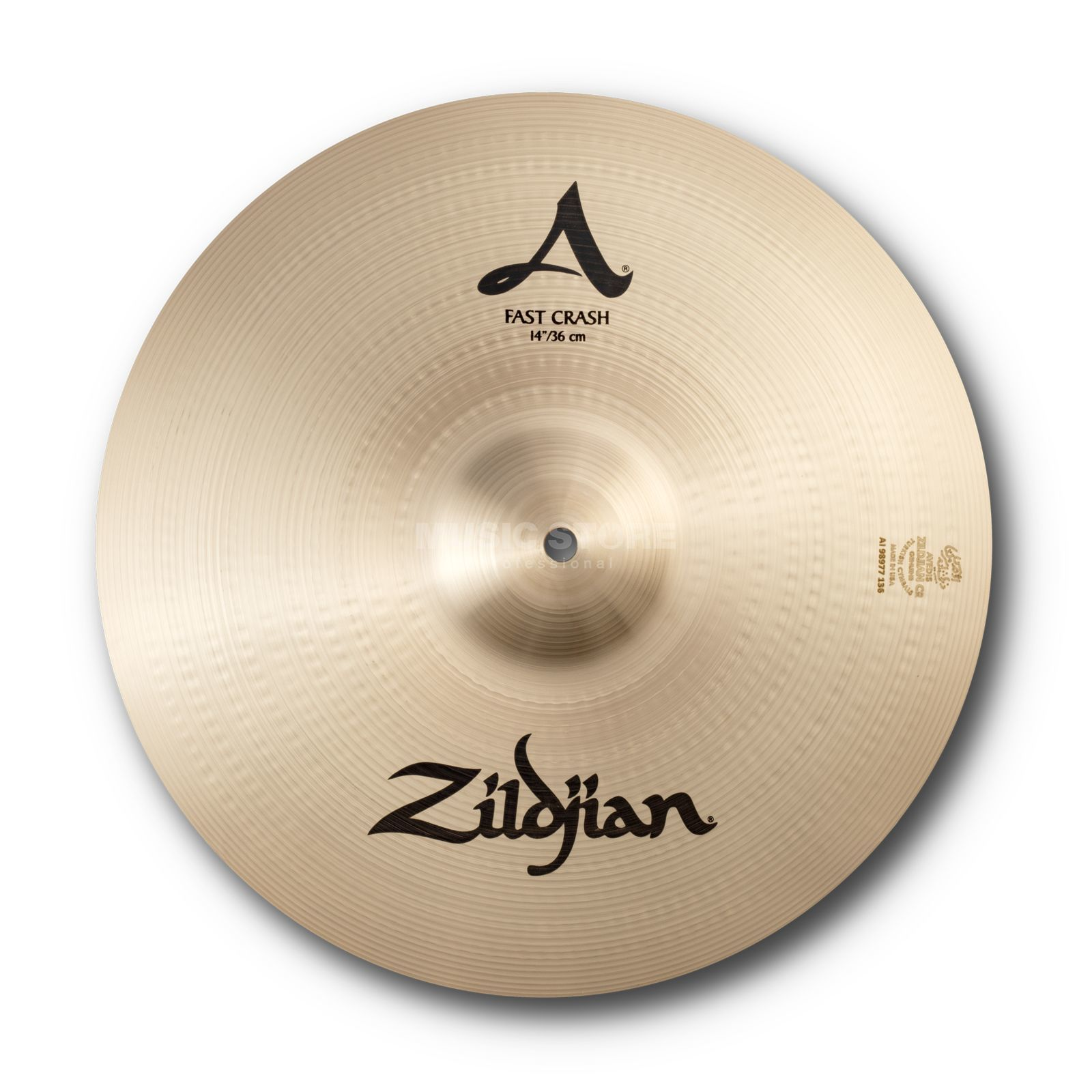 "Zildjian A' Zildjian Fast Crash 14"" Traditional Finish Produktbild"