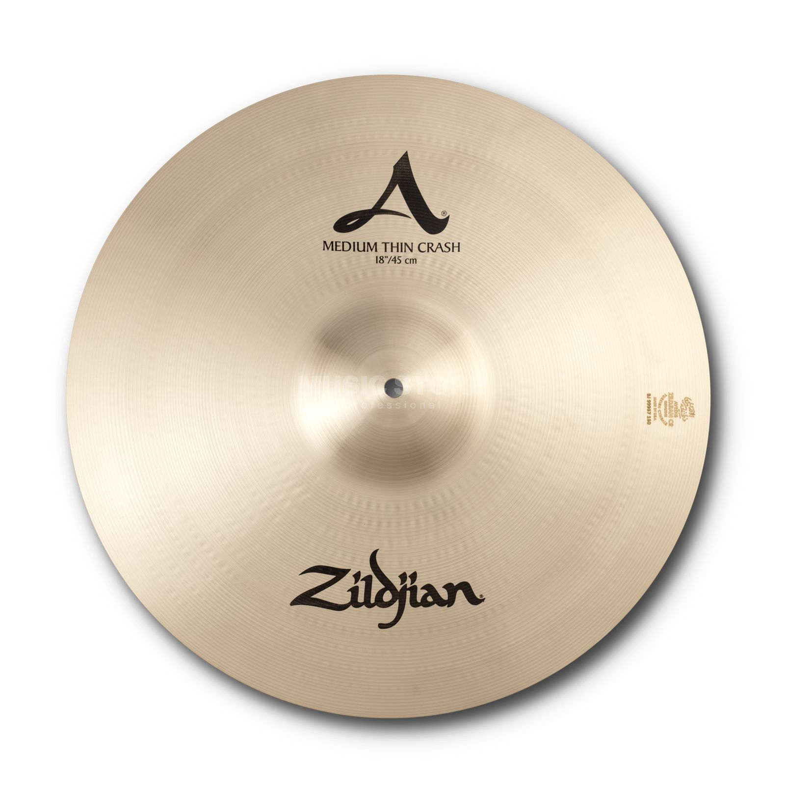 "Zildjian A' Zildjian Med/Thin Crash 18"", Traditional Finish Produktbillede"