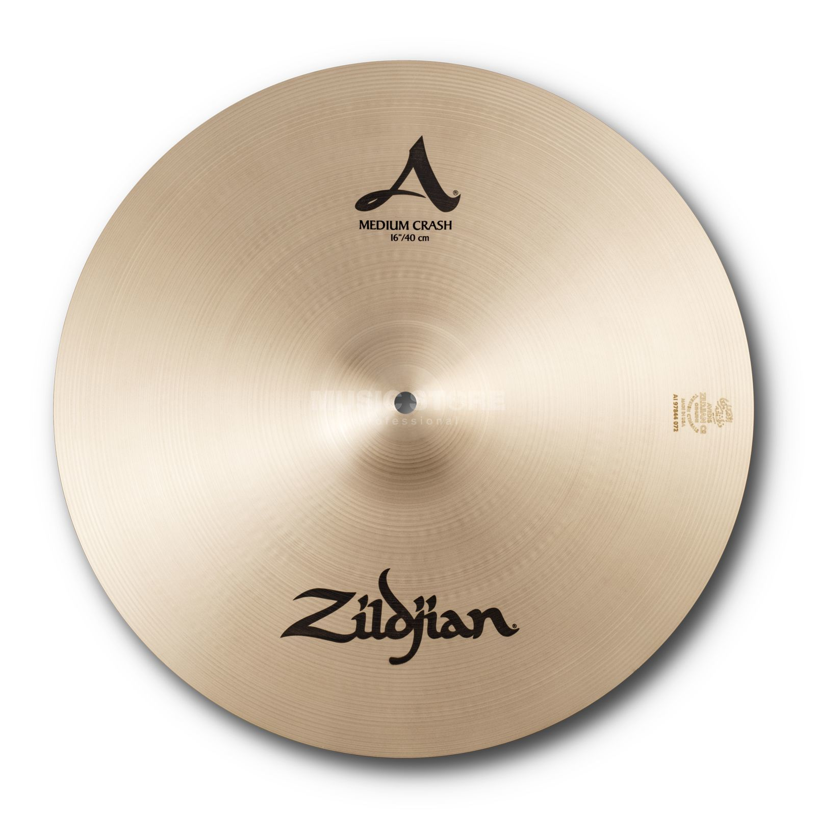 "Zildjian A' Zildjian Medium Crash 16"", Traditional Finish Produktbillede"
