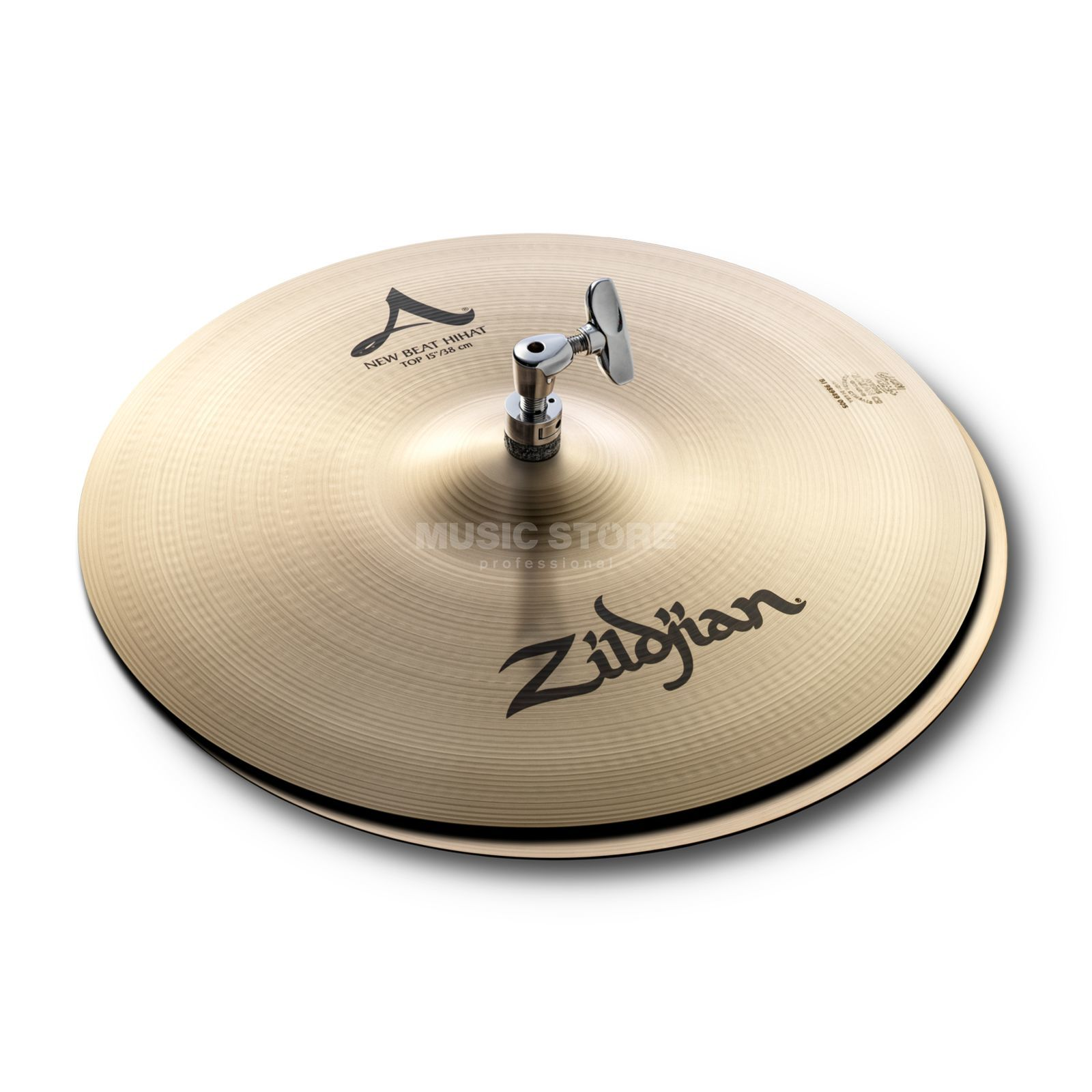 "Zildjian A' Zildjian NewBeat HiHat 15"", Traditional Finish Produktbild"