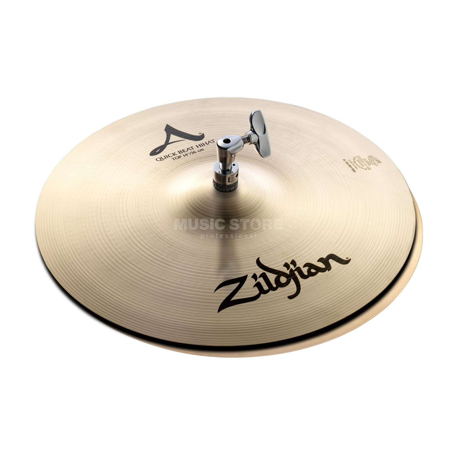 Zildjian A' Zildjian QuickBeat HiHat 14, Traditional Finish Productafbeelding