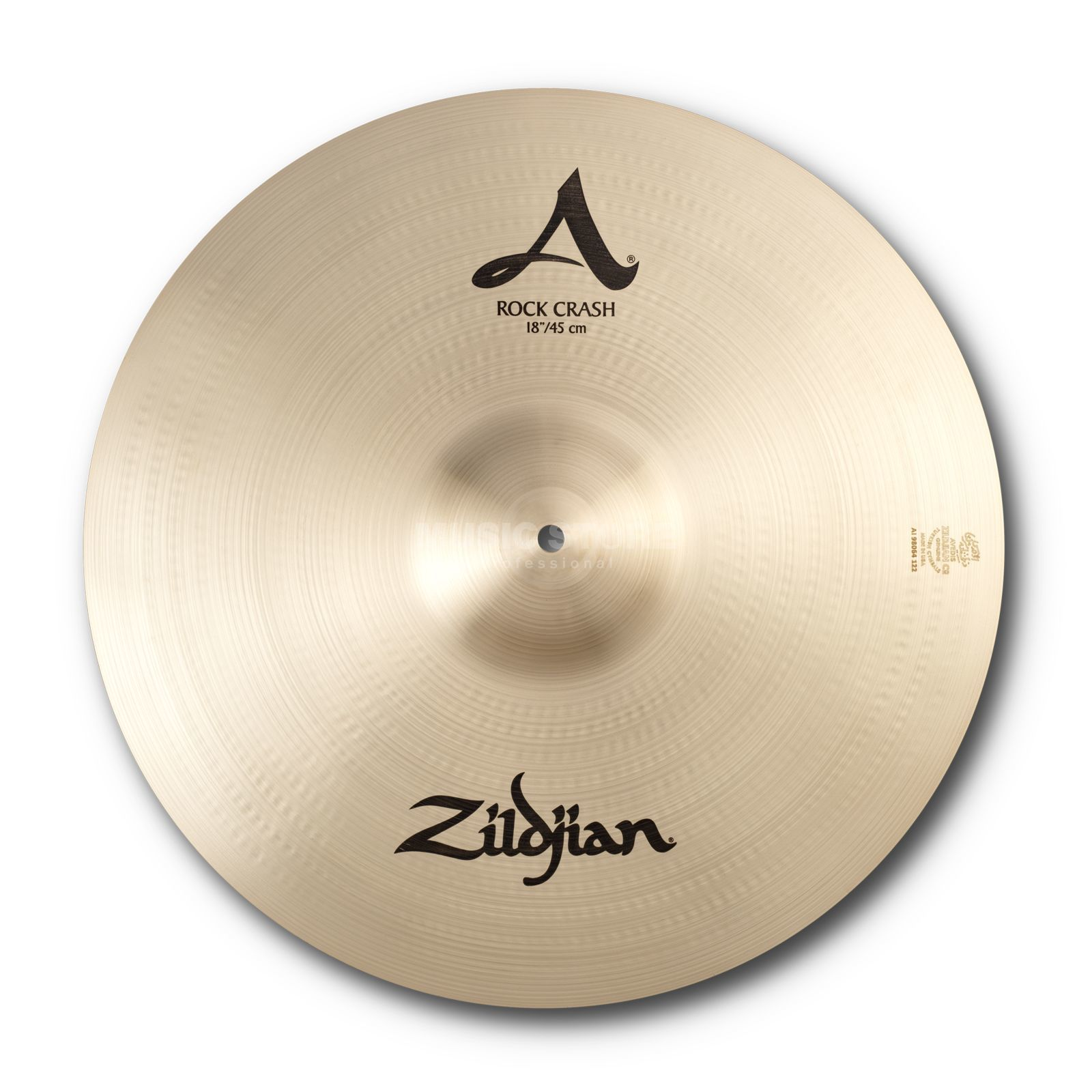 "Zildjian A' Zildjian Rock Crash 18"", Traditional Finish Produktbillede"
