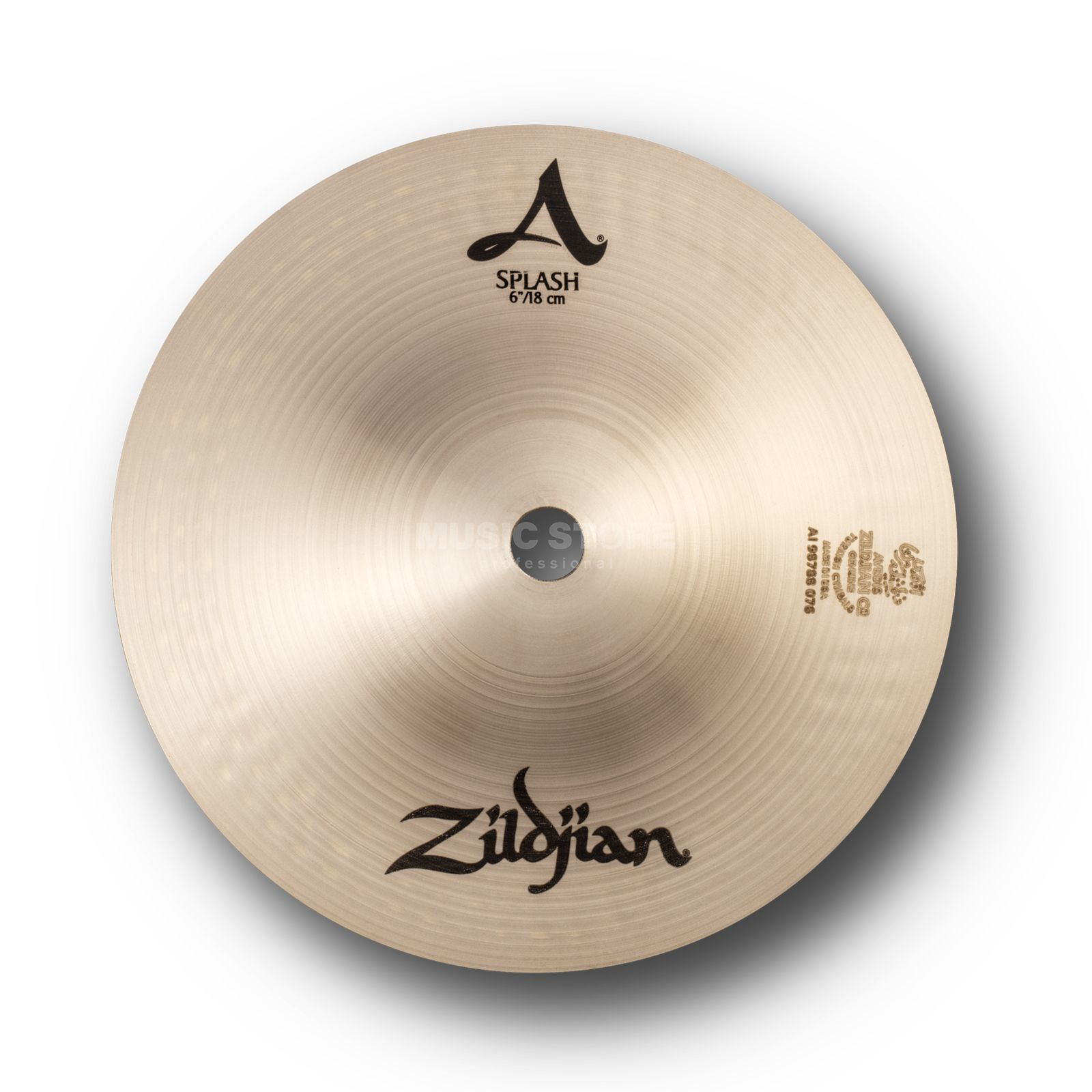 "Zildjian A' Zildjian Splash 6"", Traditional Finish Produktbillede"