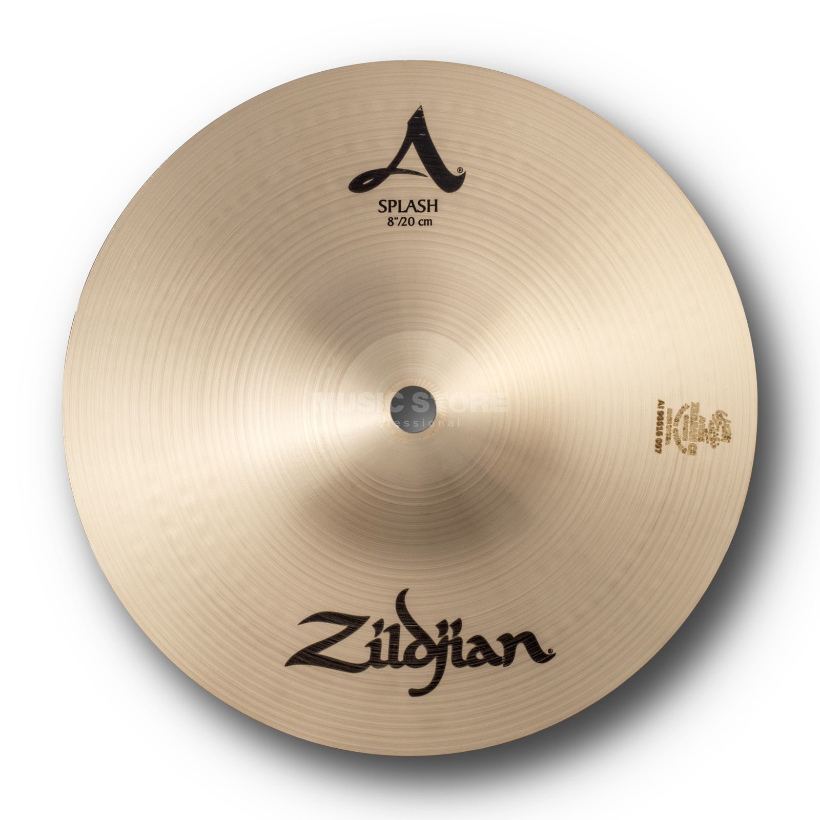 "Zildjian A' Zildjian Splash 8"", Traditional Finish Produktbillede"