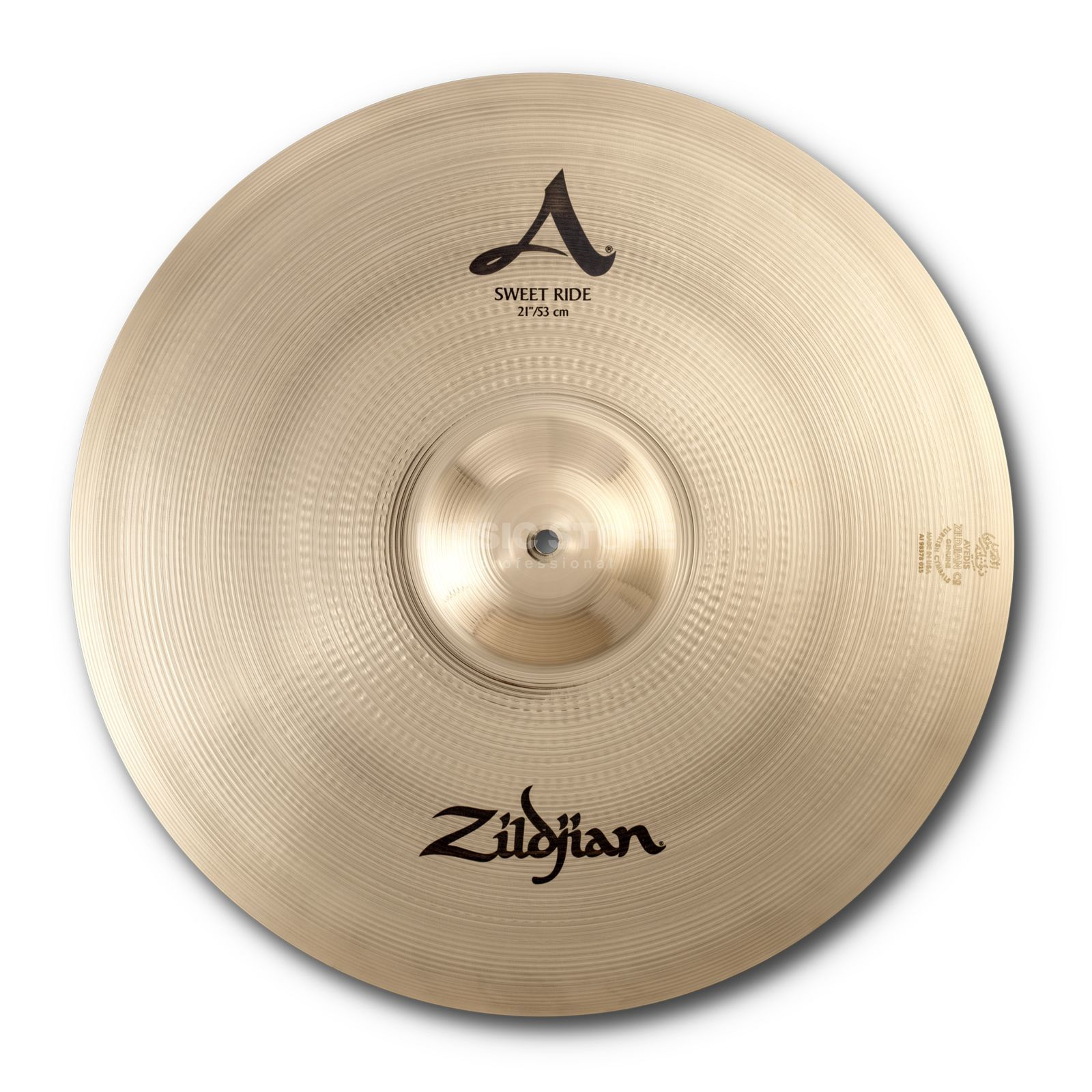 "Zildjian A' Zildjian Sweet Ride 21"", Brilliant Finish Produktbillede"