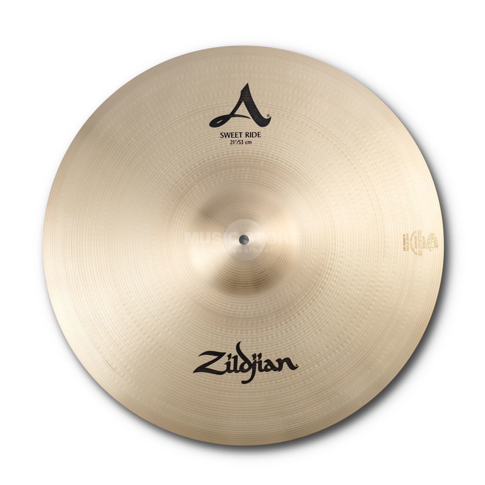 "Zildjian A' Zildjian Sweet Ride 21"", Traditional Finish Produktbillede"