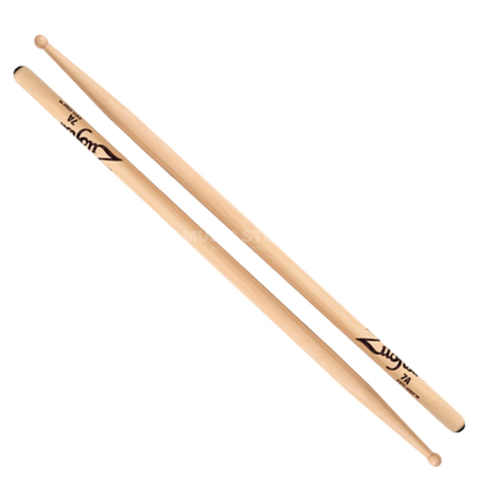 Zildjian Anti-Vibe 7A Sticks, Wood Tip Product Image