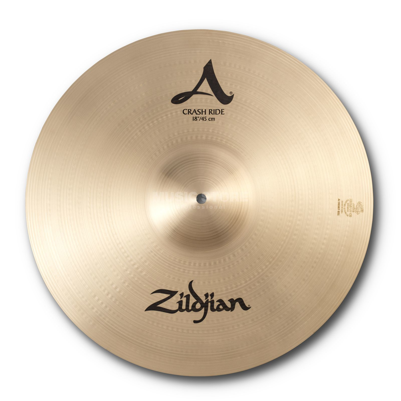 "Zildjian Avedis Crash Ride 18"", Traditional Finish Productafbeelding"