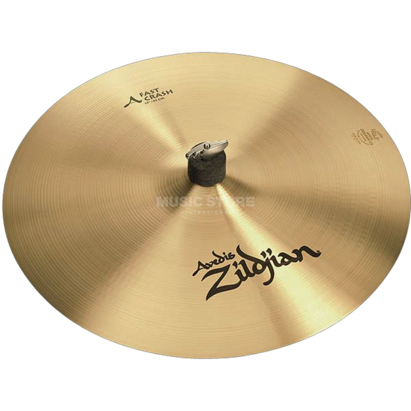 "Zildjian Avedis Fast Crash 17"", Traditional Finish Product Image"