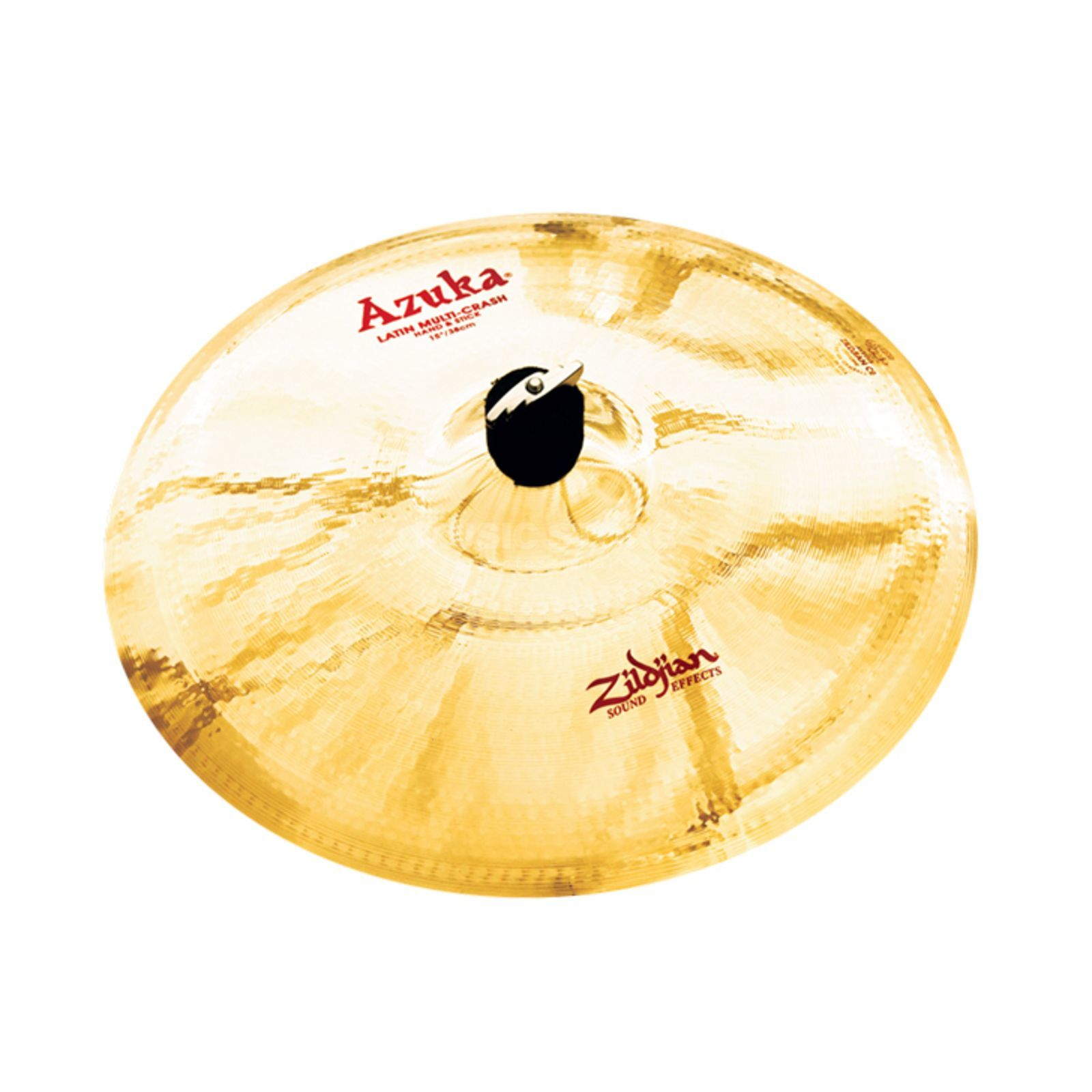 "Zildjian Azuka Latin Multi Crash 15"", Brilliant Finish Productafbeelding"