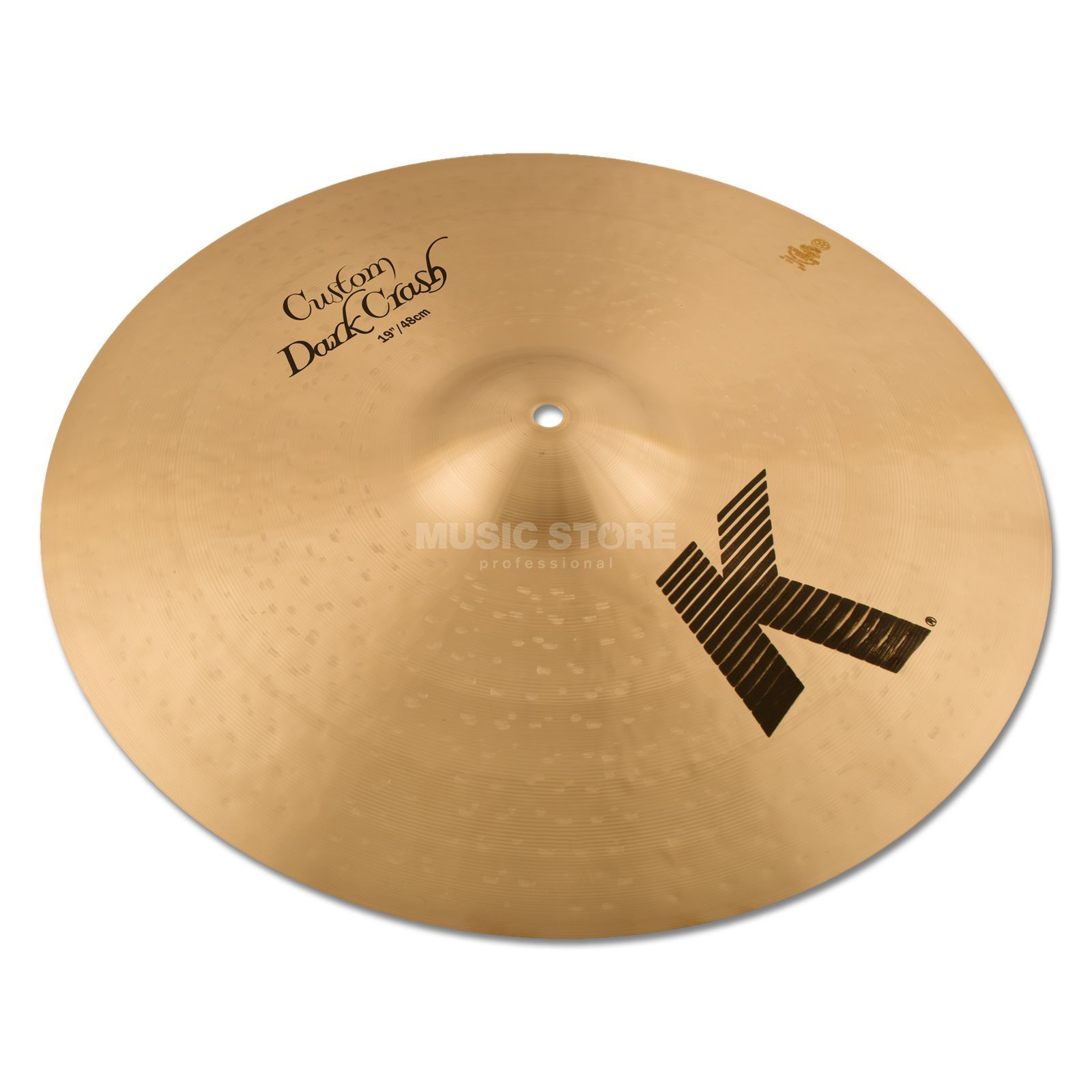 "Zildjian K-Custom Dark Thin Crash, 19"" Traditional Finish Produktbild"