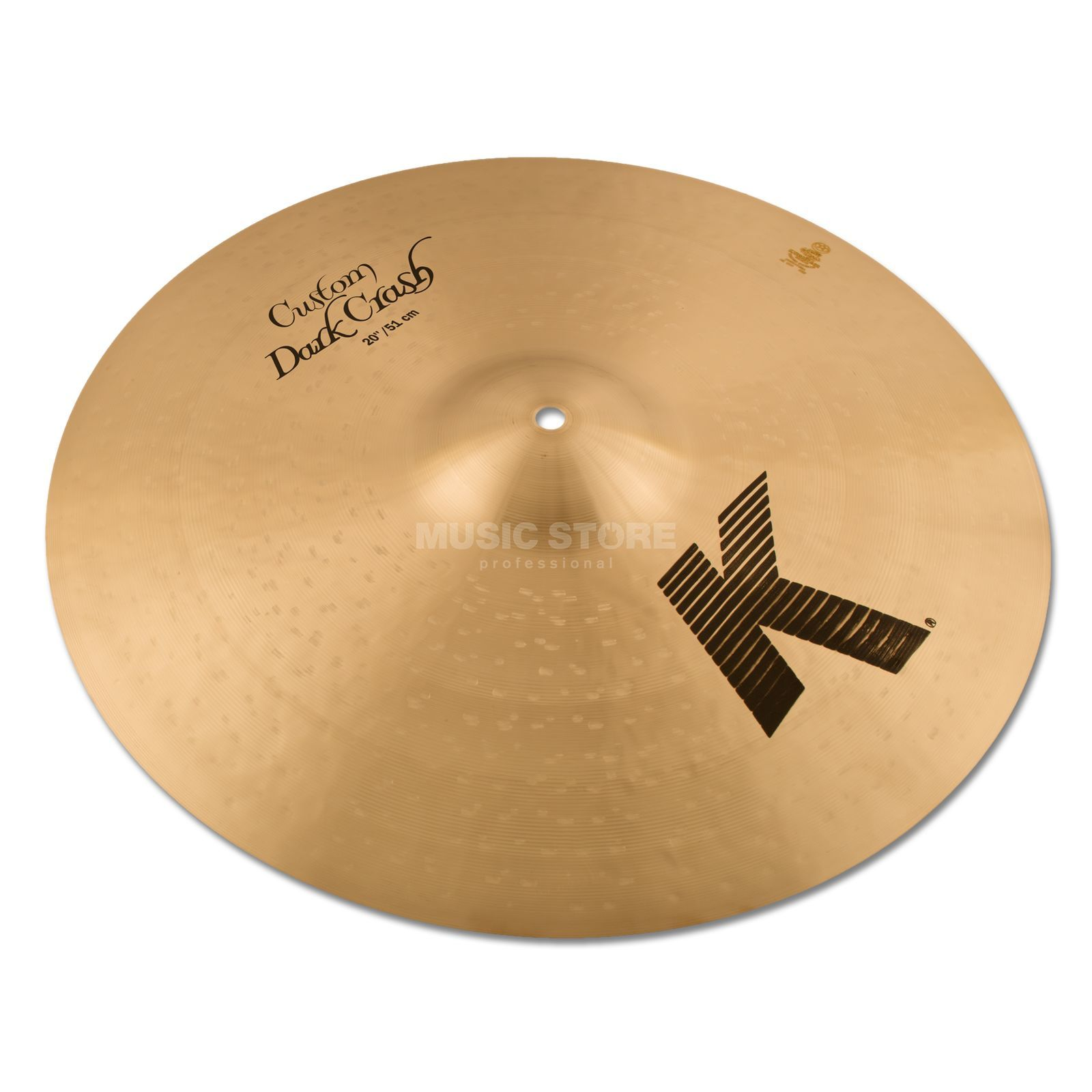 "Zildjian K-Custom Dark Thin Crash, 20"" Traditional Finish Produktbillede"
