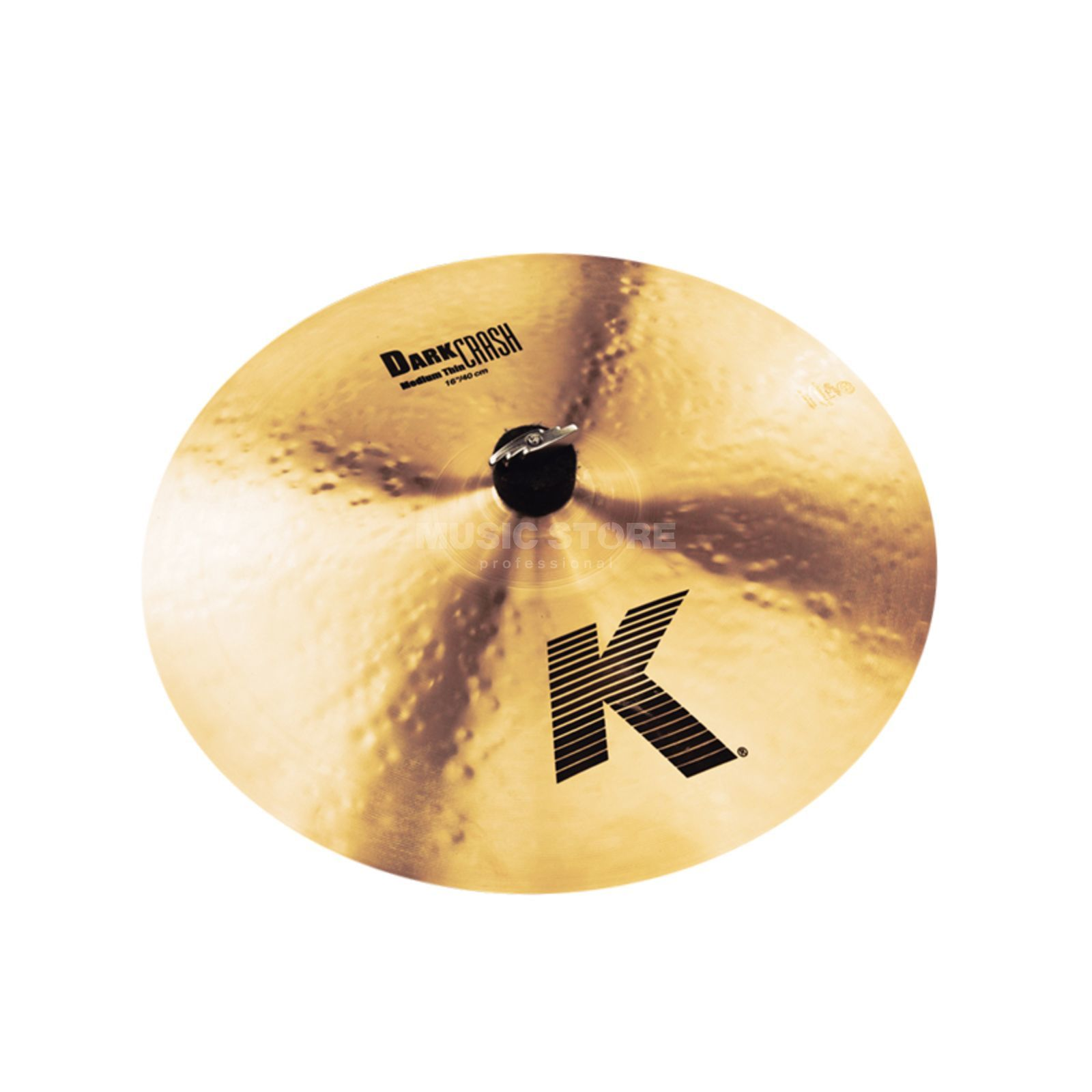 "Zildjian K' Dark Crash Medium Thin 16"", Traditional Finish Produktbillede"